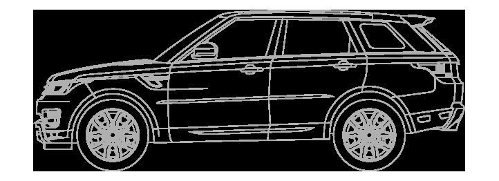 Extra large car