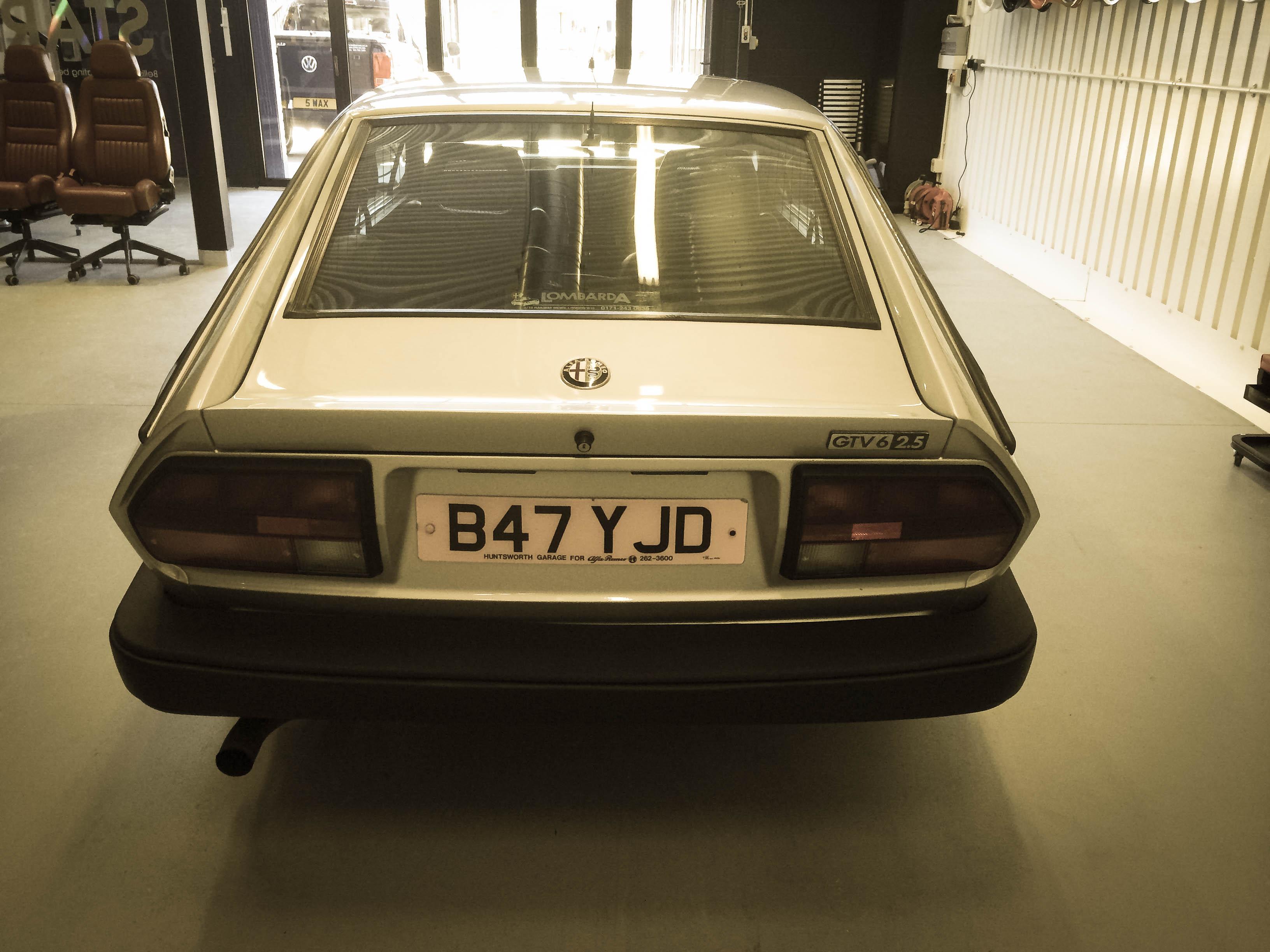 Alfa Romeo GTV6 –Back