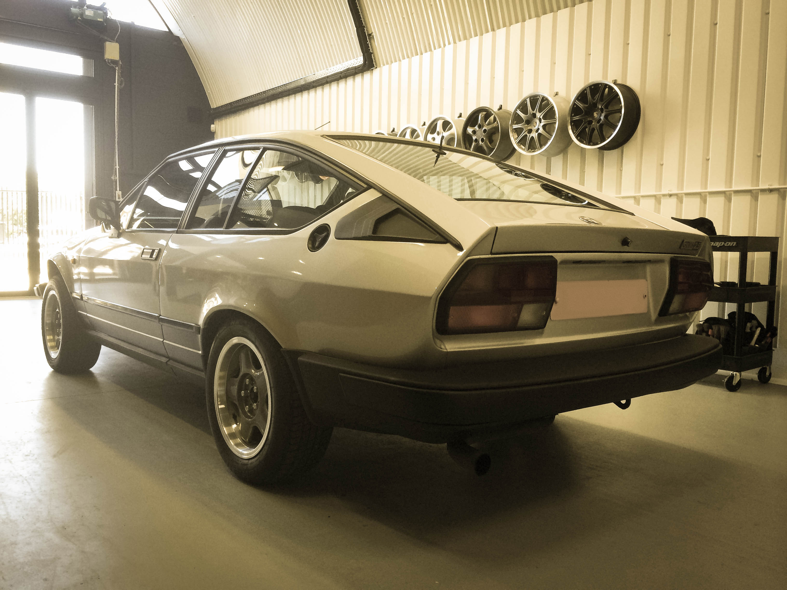 Alfa Romeo GTV6 – Rear