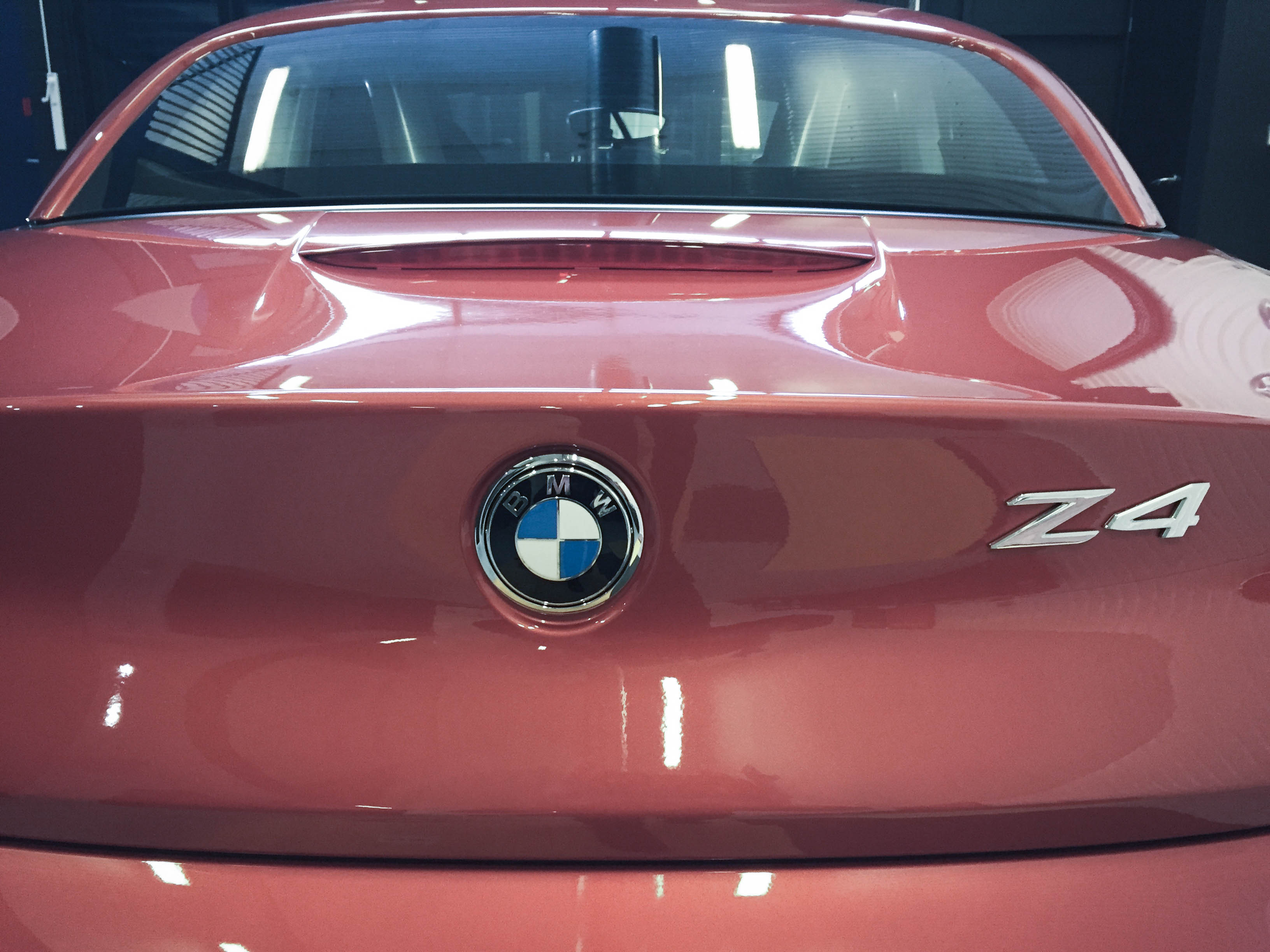 BMW Z4 – Badge