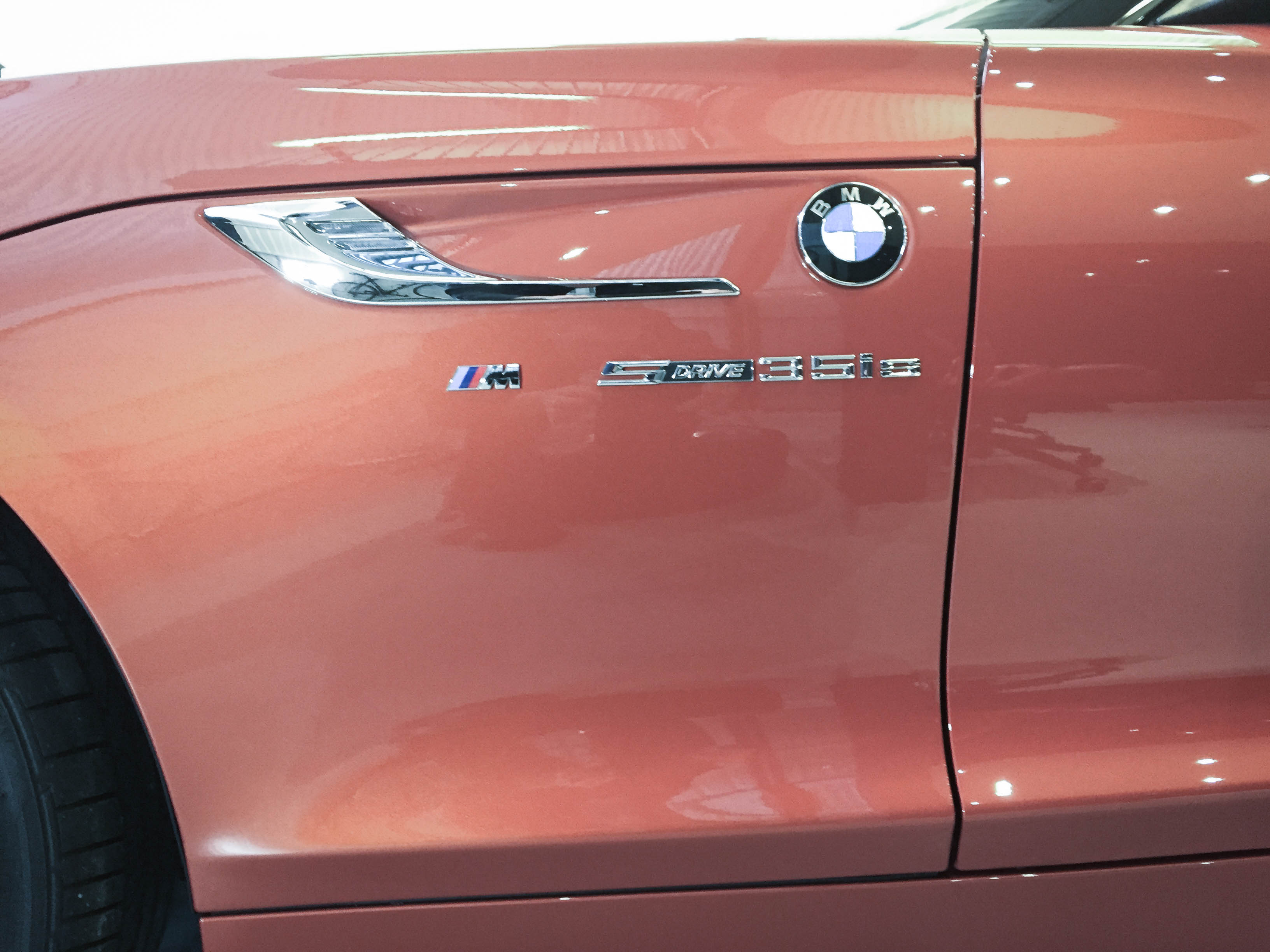BMW Z4 – Side detail