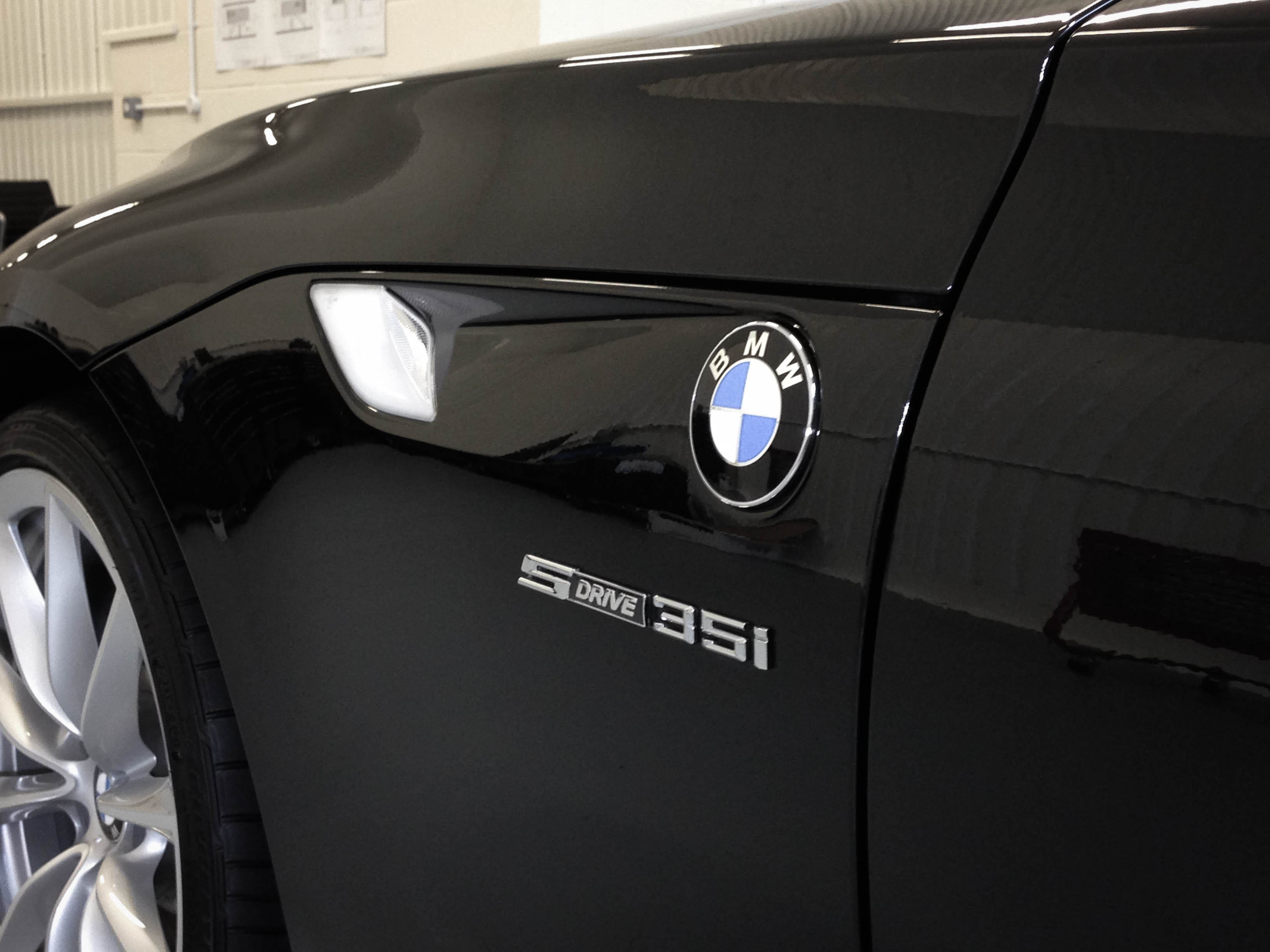 BMW Z4 3.2i – Side detail