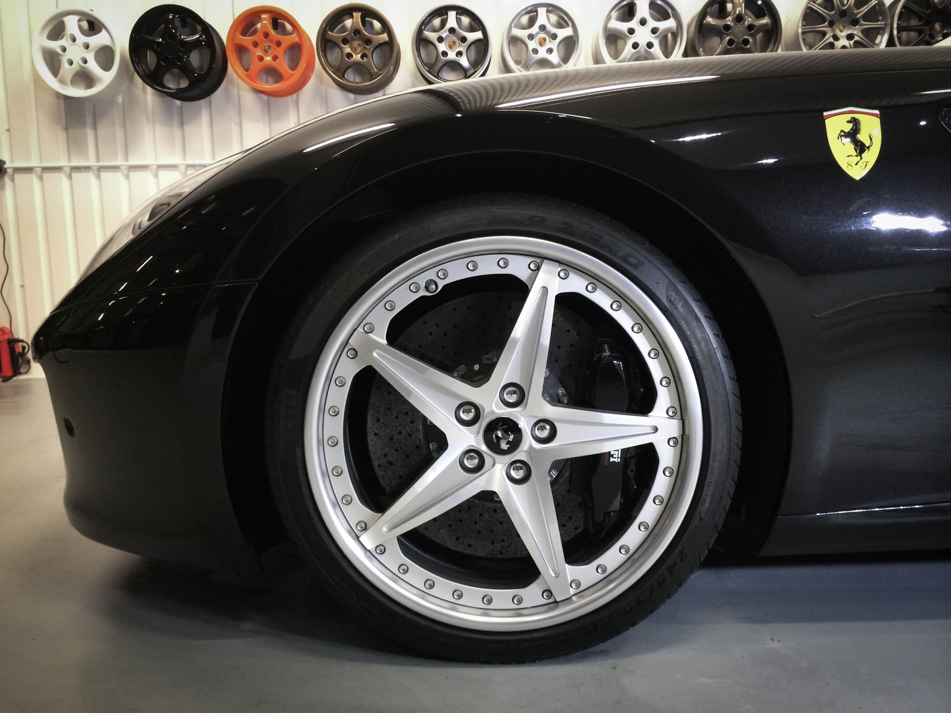 Ferrari-599-GTB – wheel detail