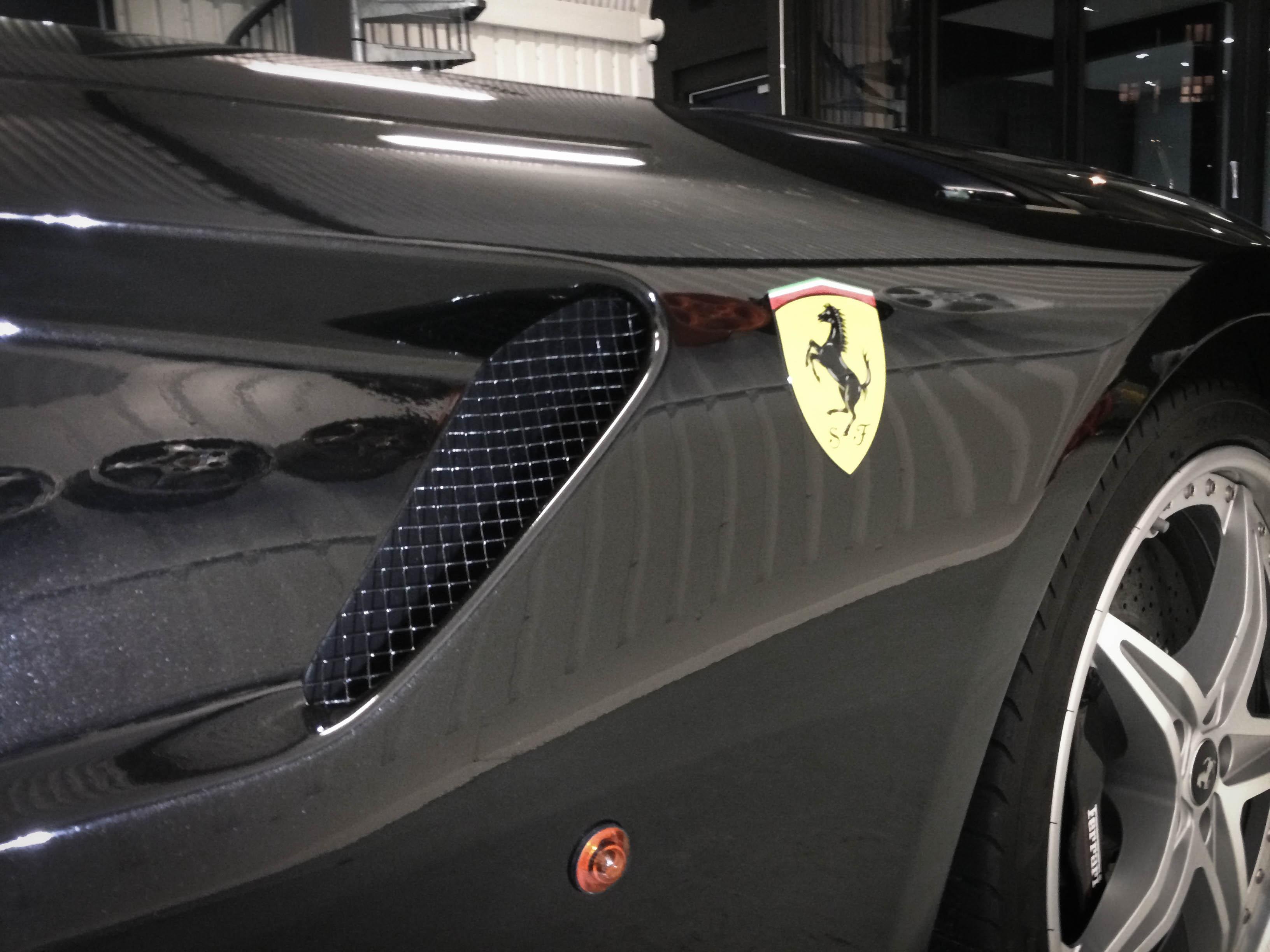 Ferrari 599 GTB Badge detail