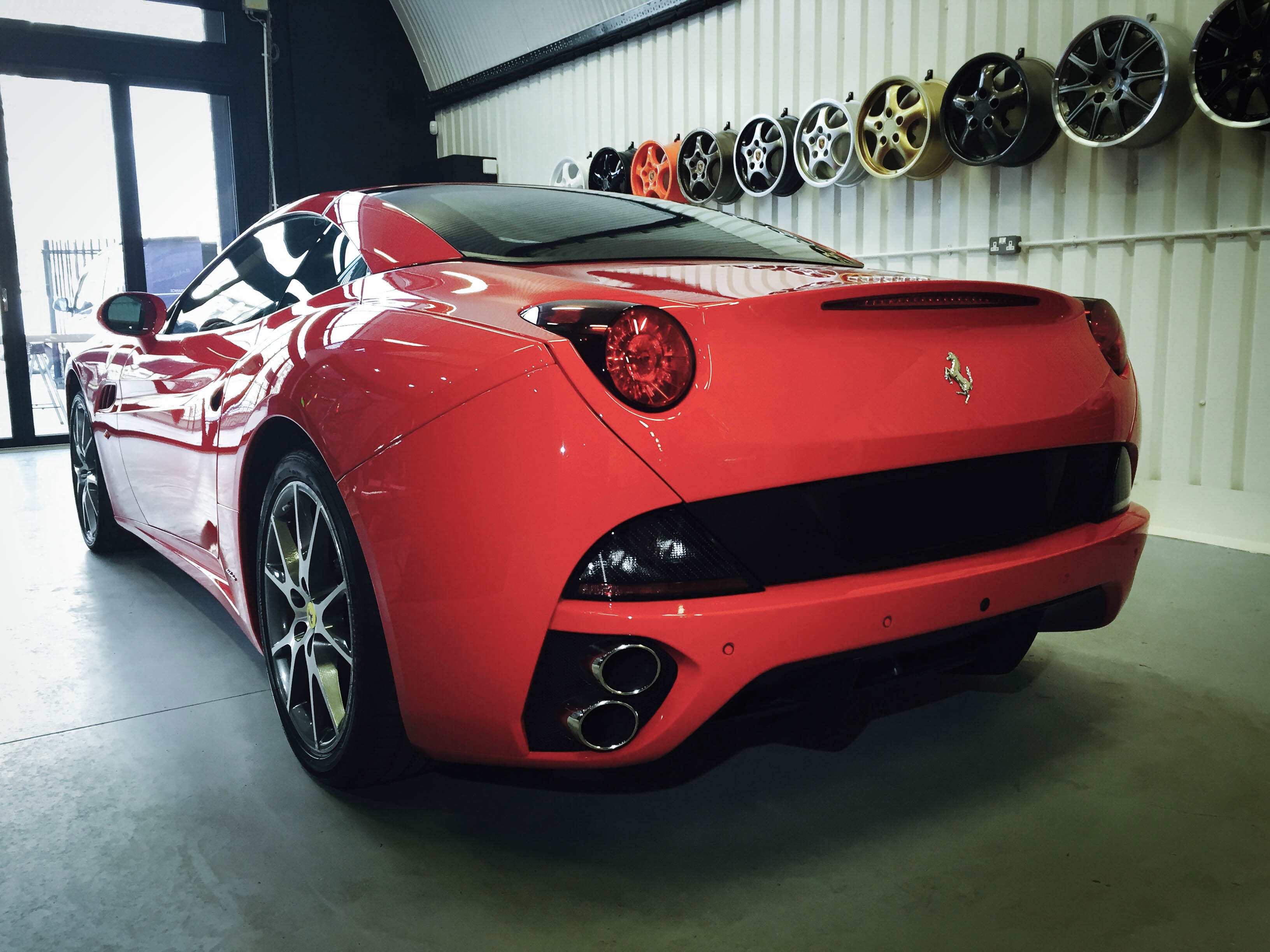 Ferrari California – Rear