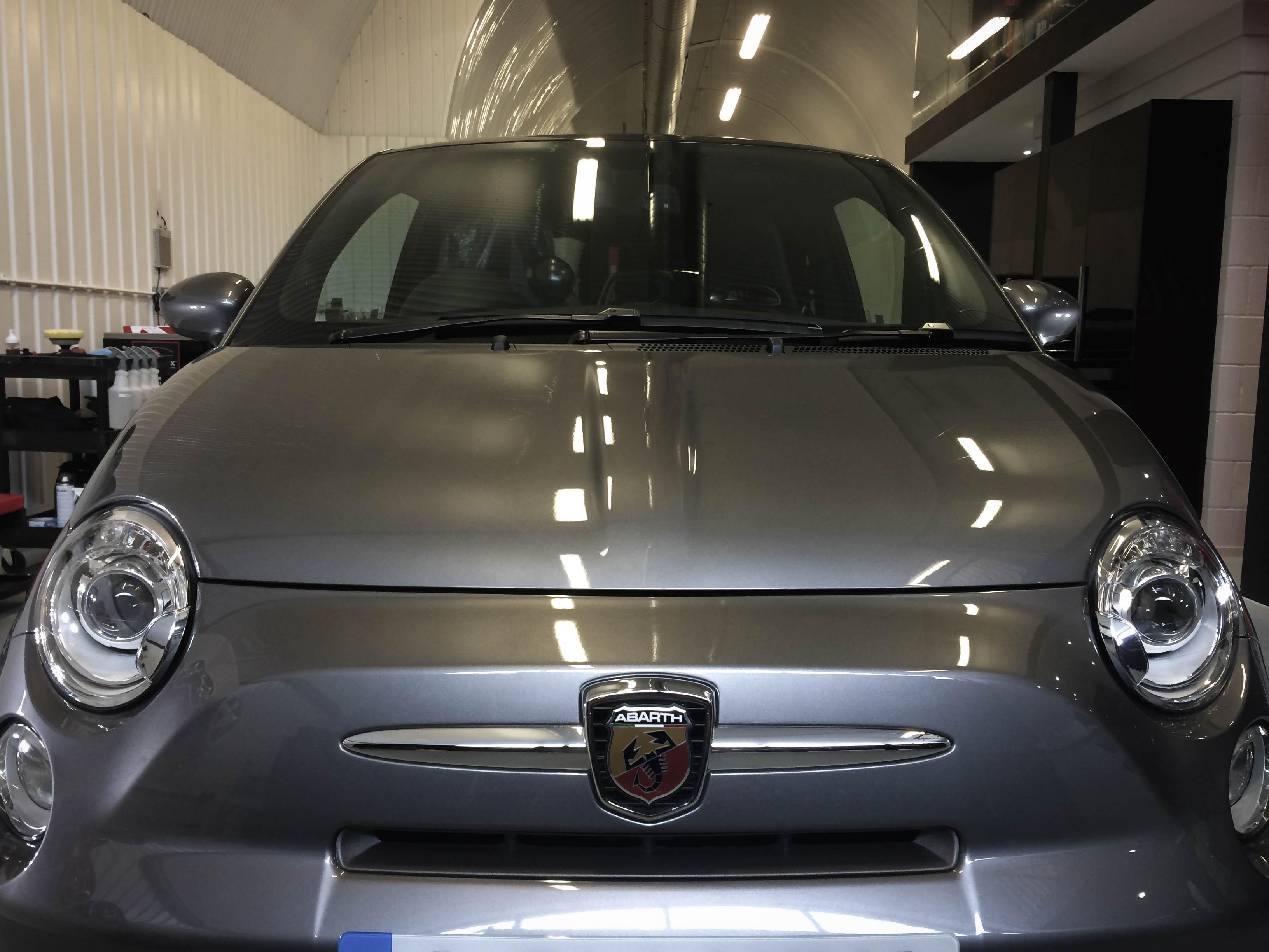 Fiat Abarth –Bonnet