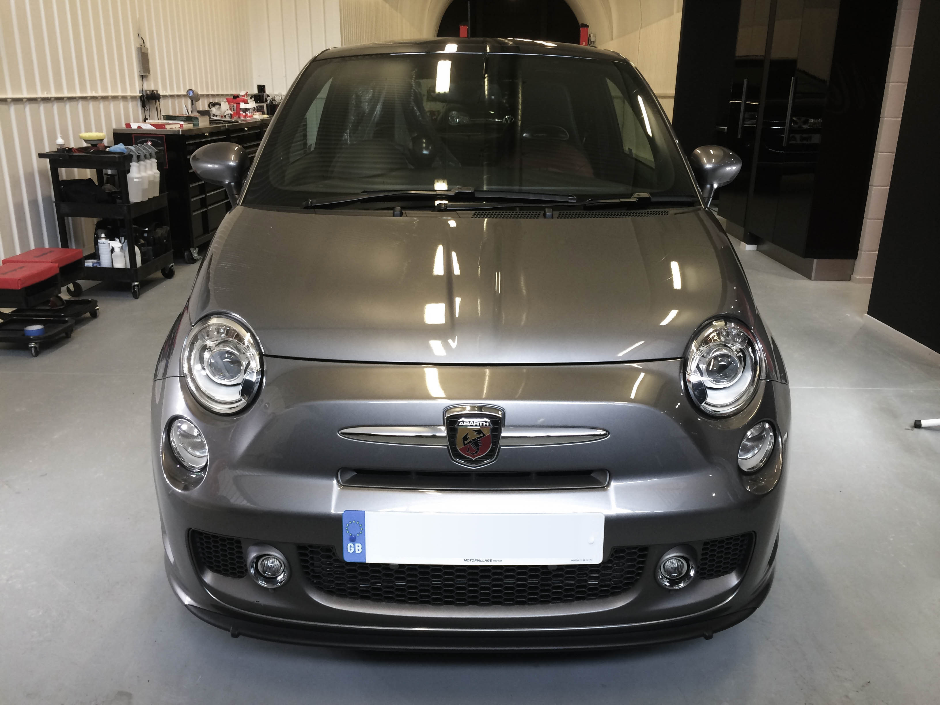 Fiat Abarth – Head on