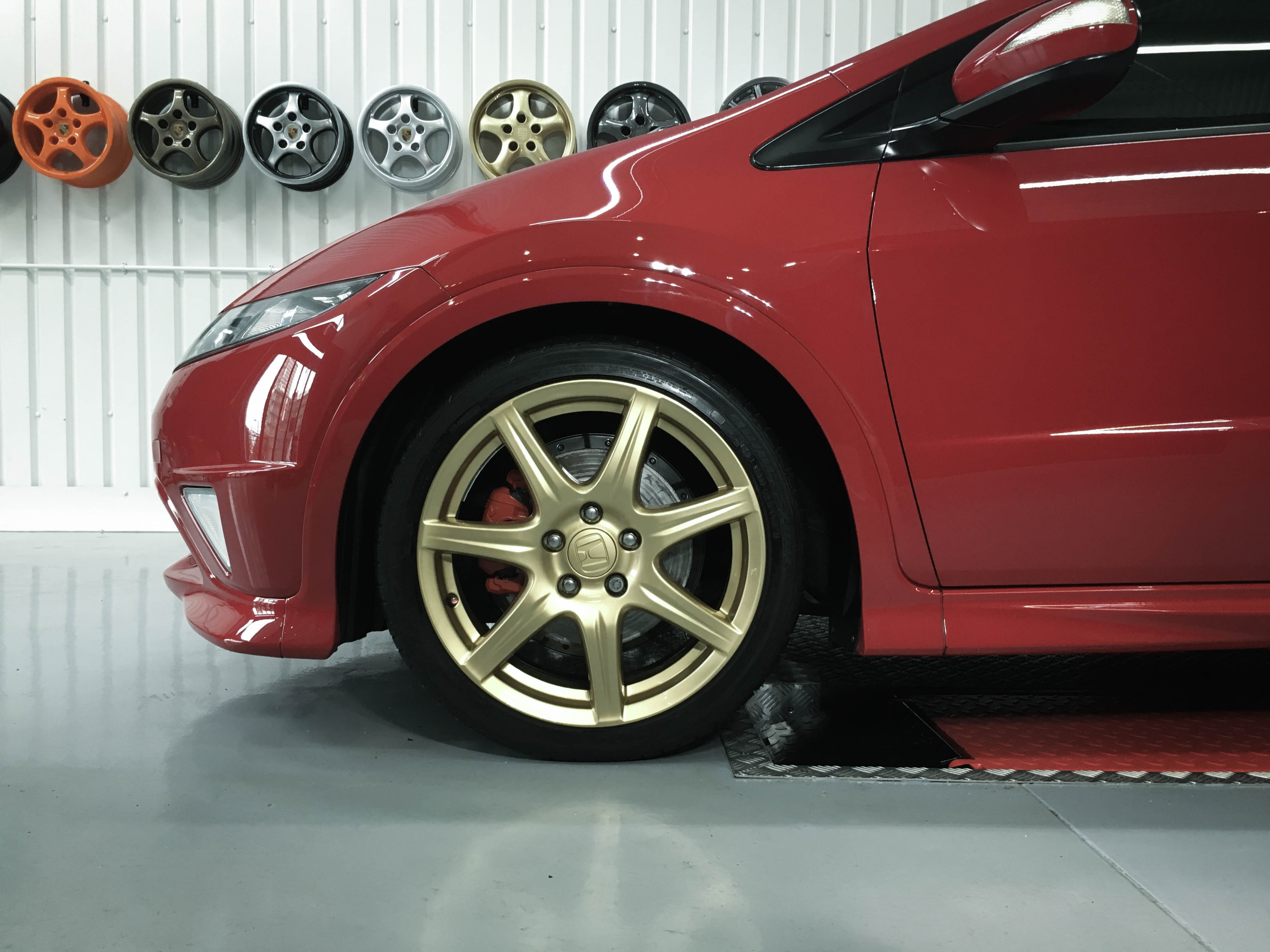 Honda Civic TypeR – Wheel