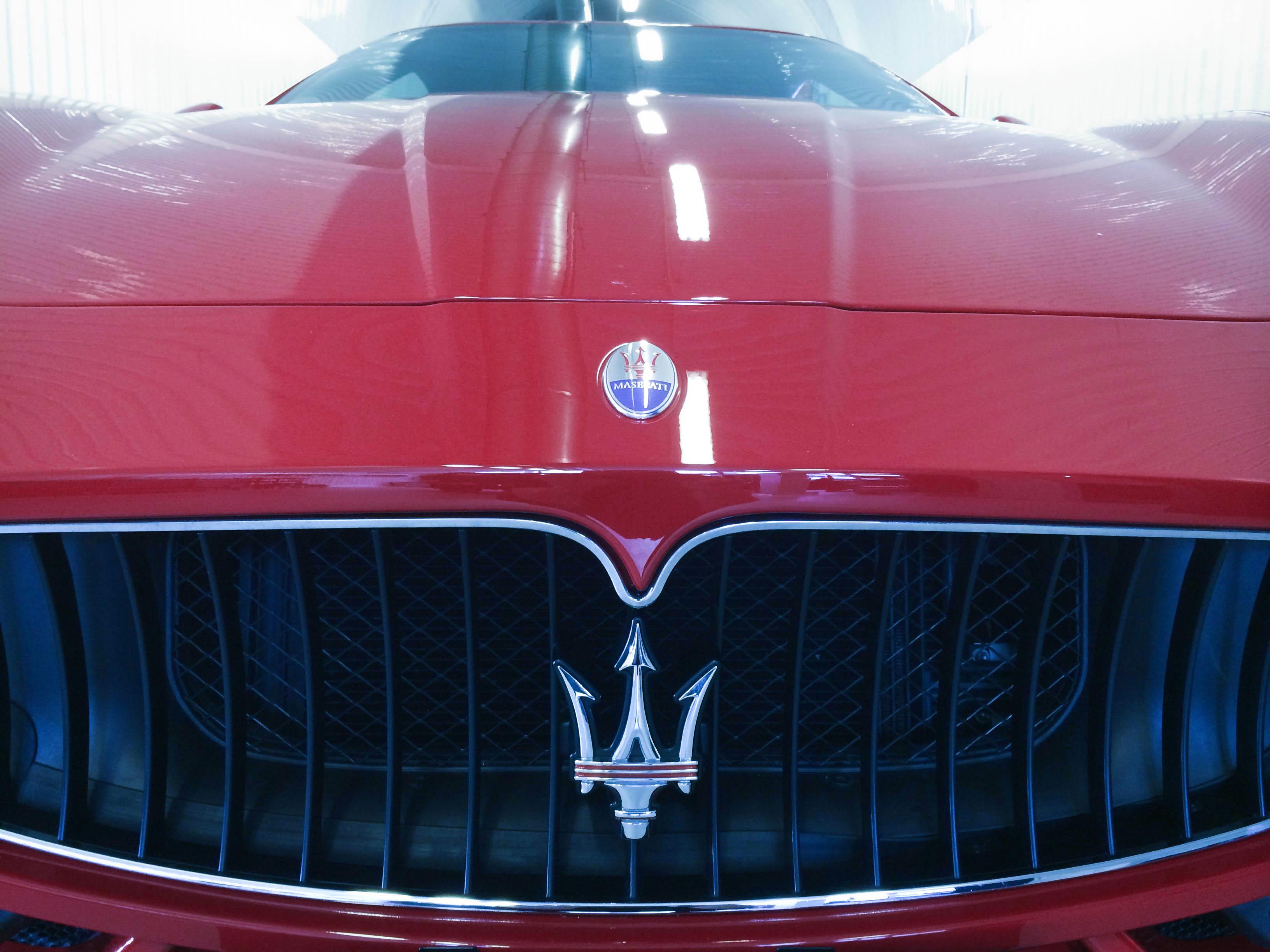 Maserati Gran Turismo – Grill