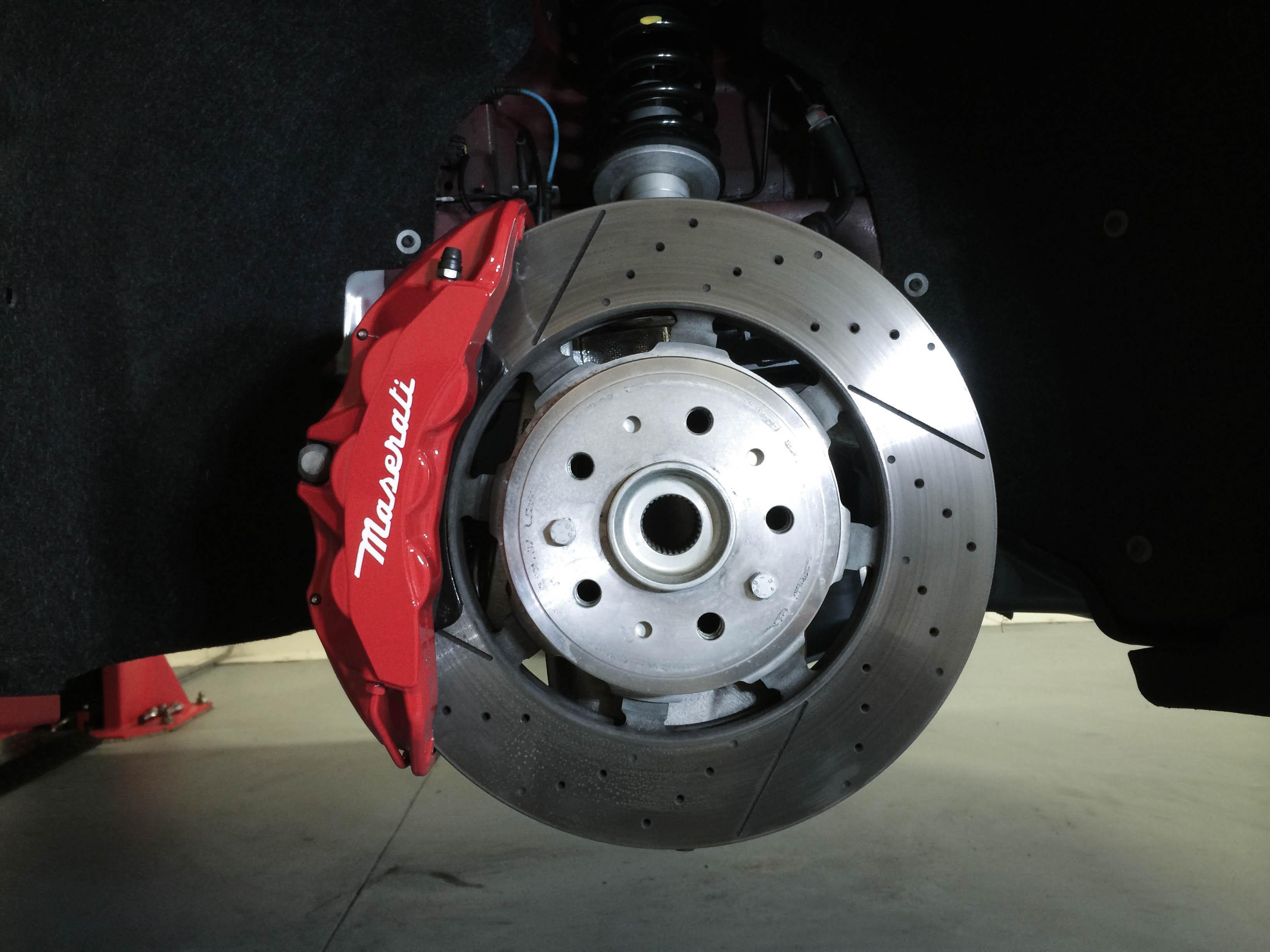 Maserati Gran Turismo – Wheel restoration