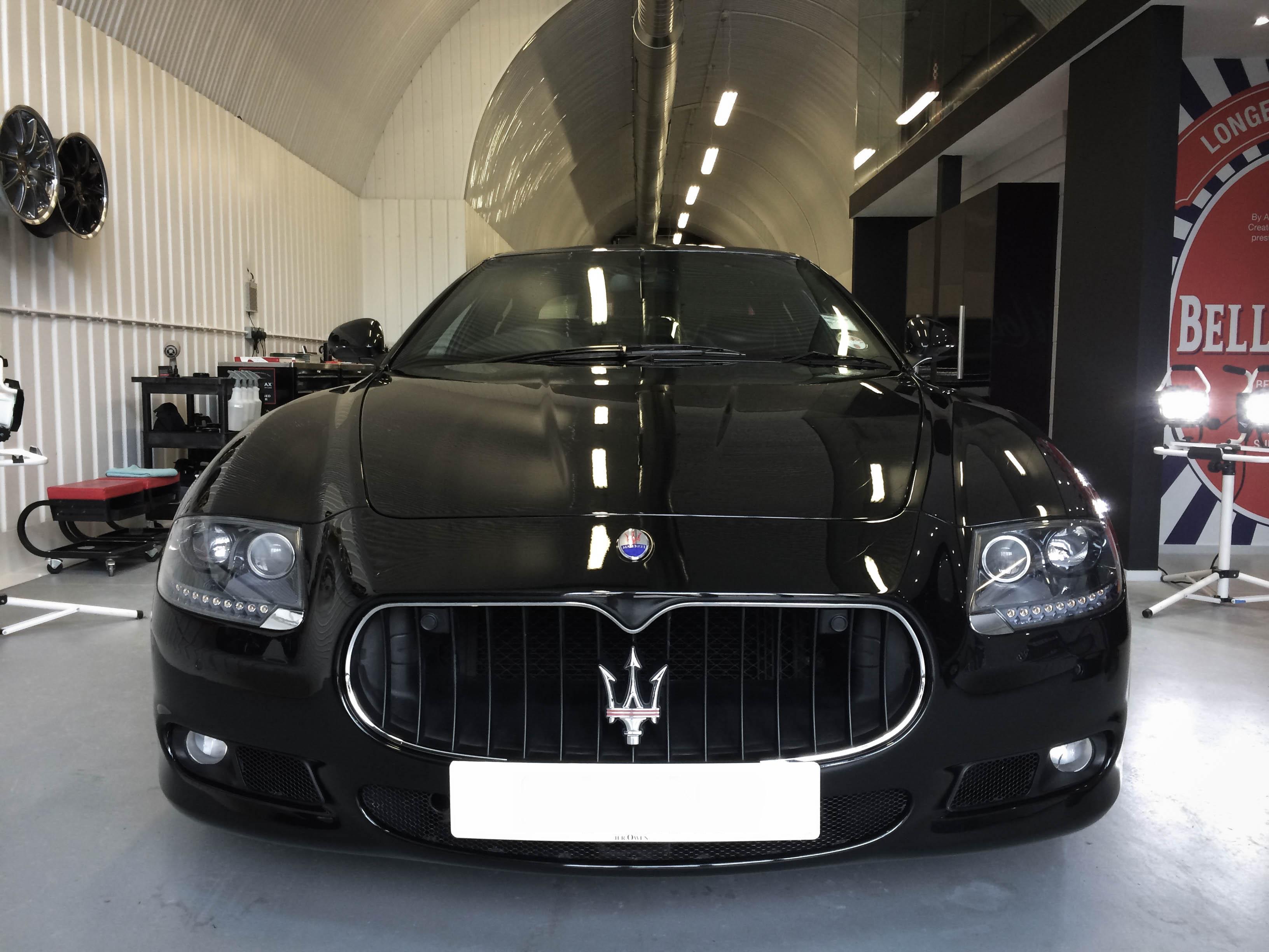 Maserati Quatroporte –Front