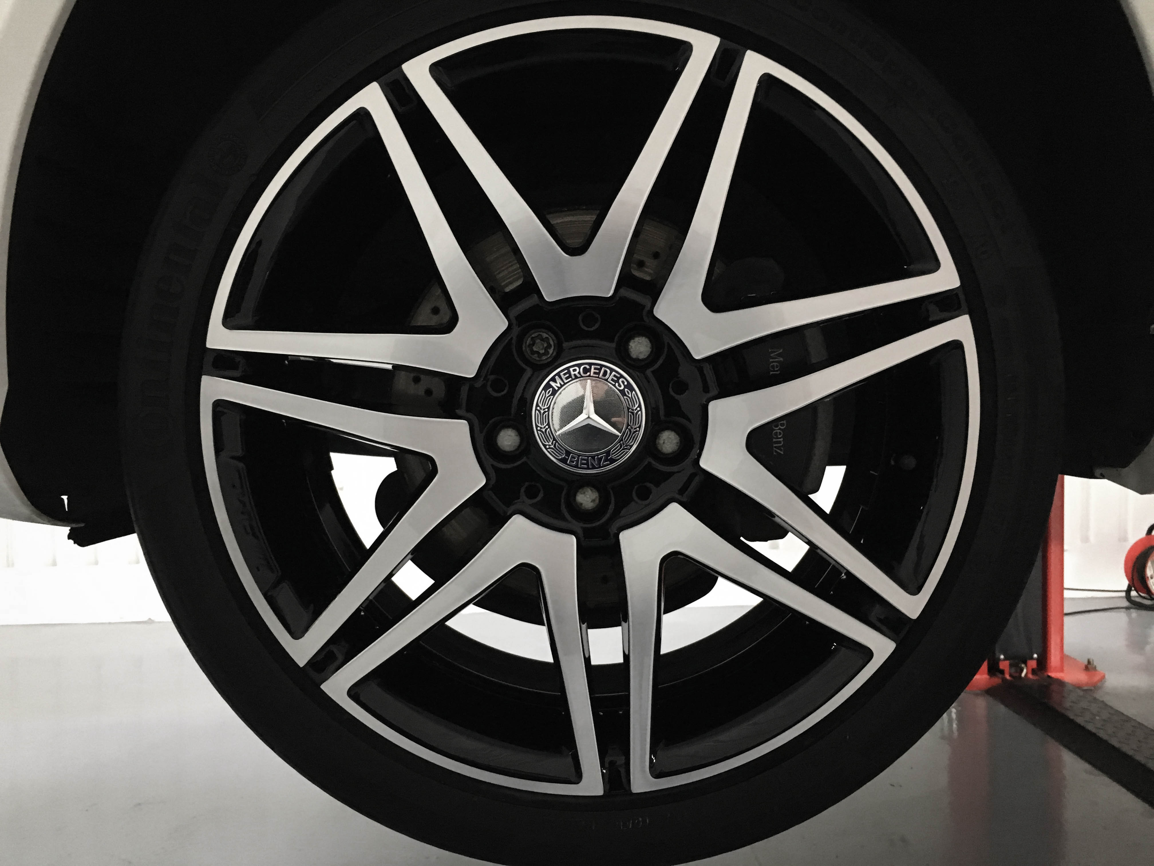 Mercedes C Class – Reconditioned wheel