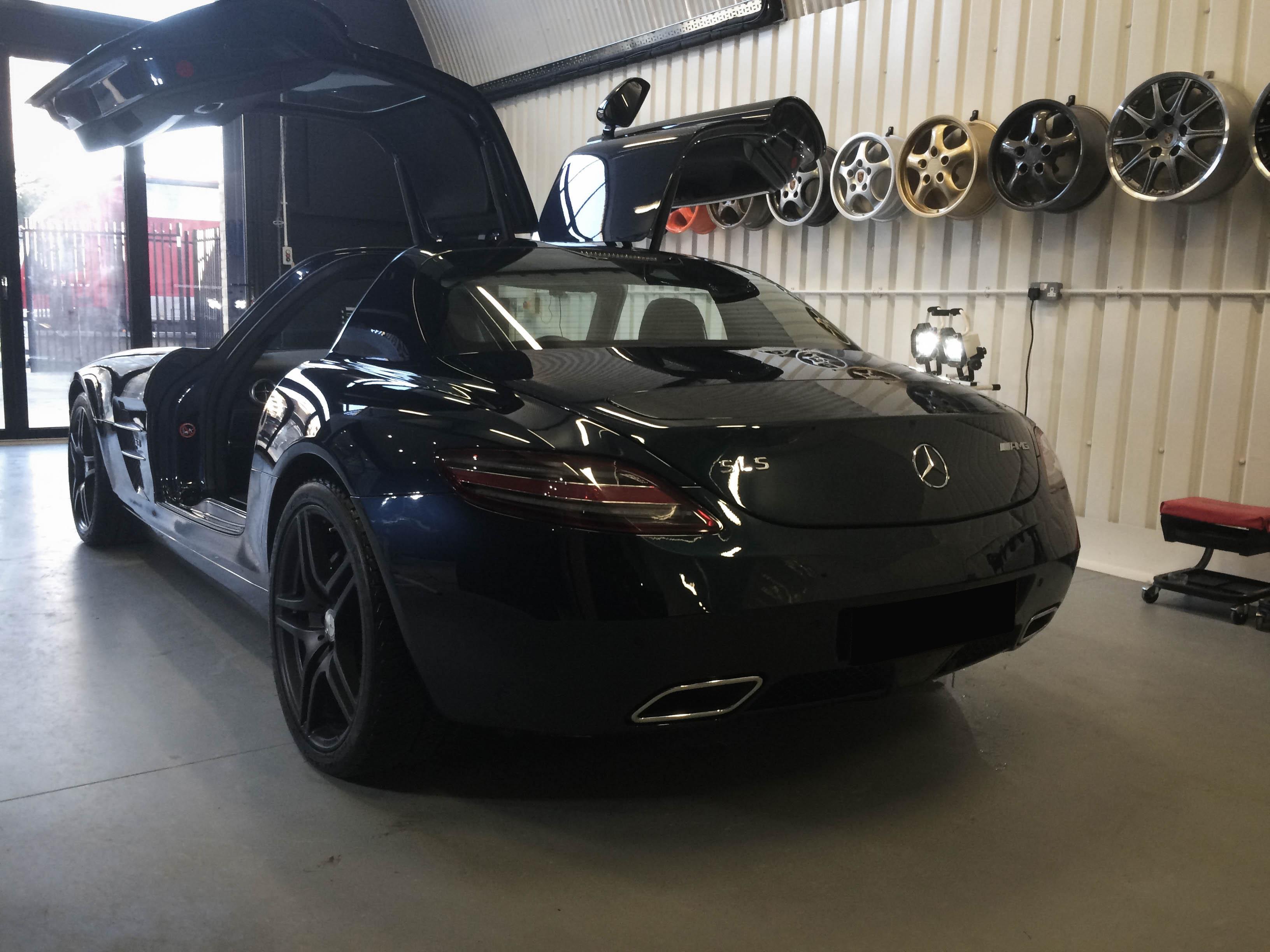 Mercedes SLS AMG –Rear
