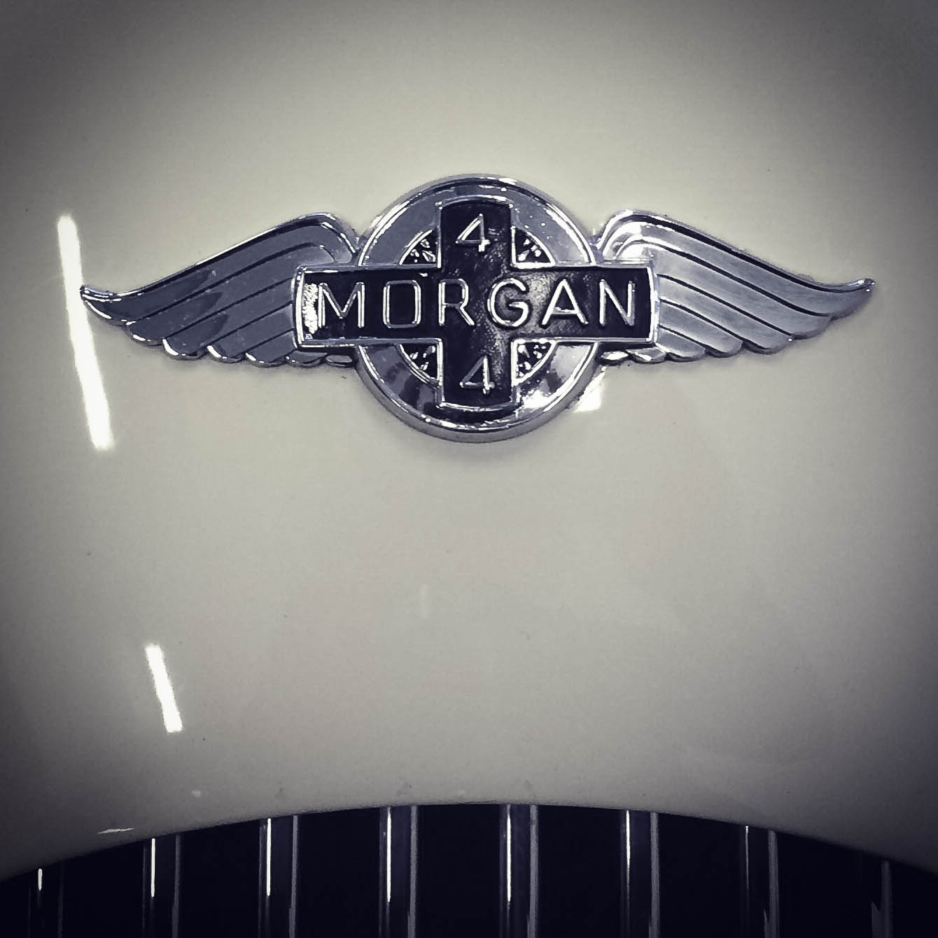 Morgan – Winged badge