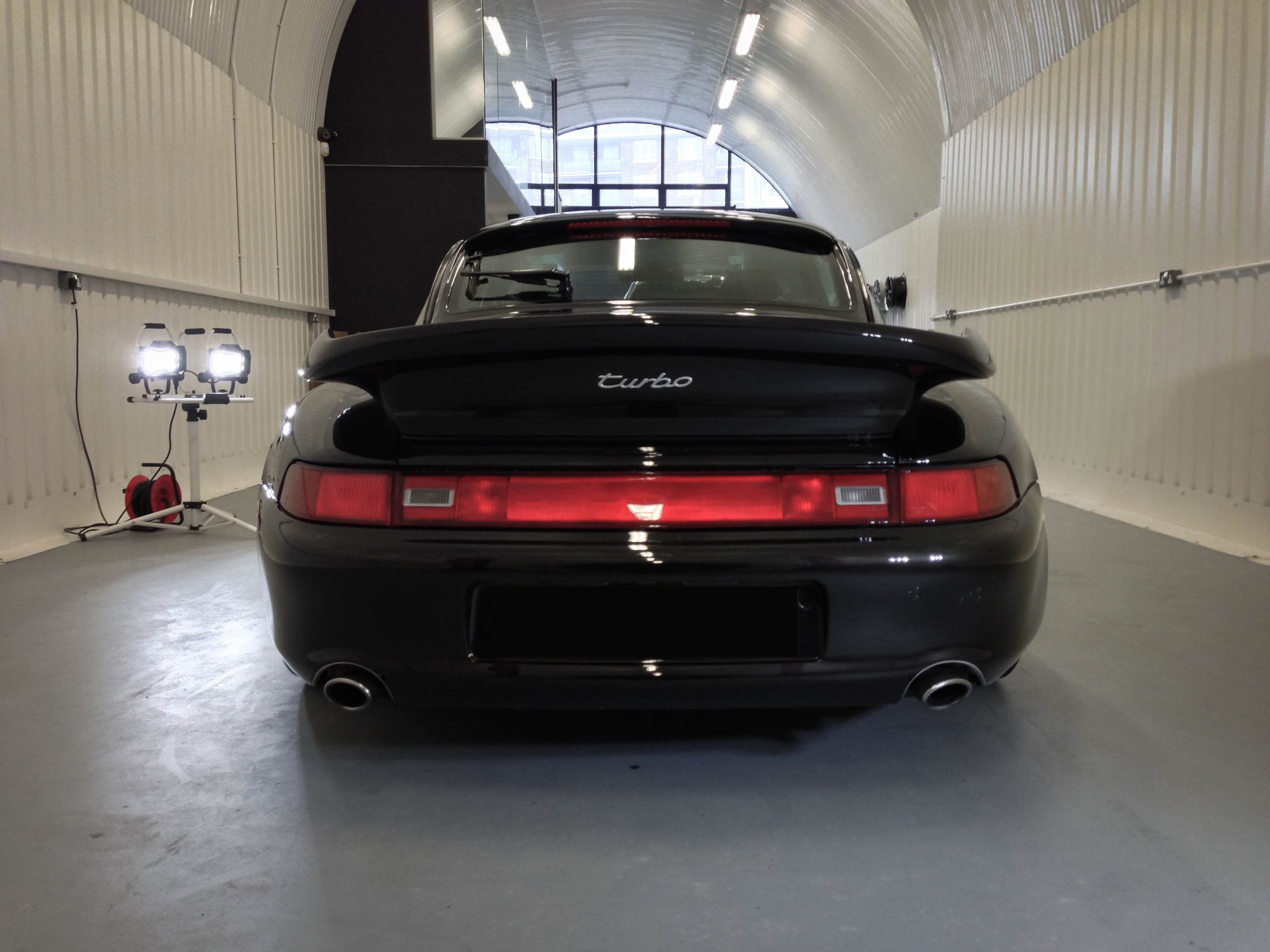 Porsche 911 Turbo – Back end
