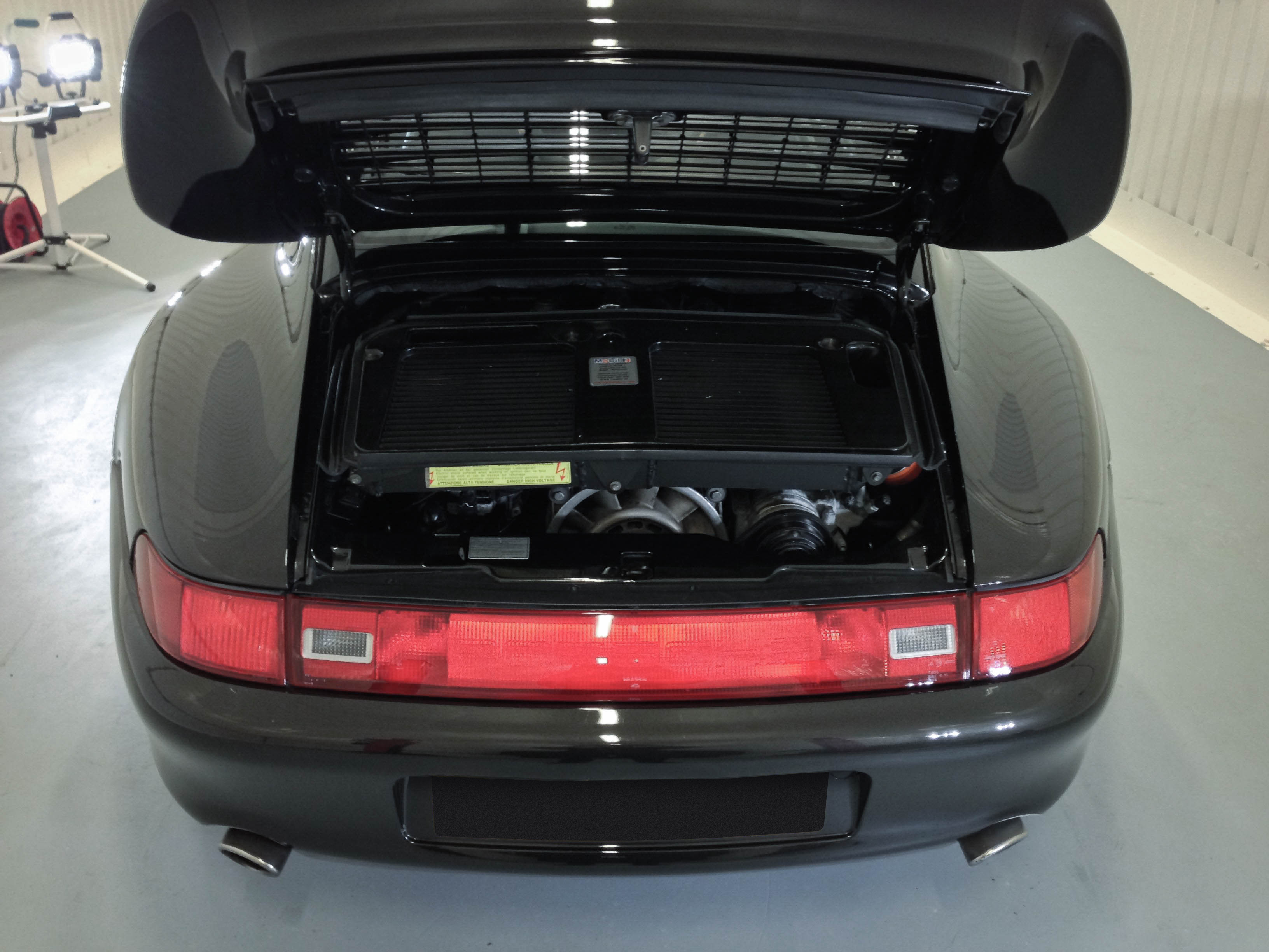 Porsche 911 Turbo – Clean engine