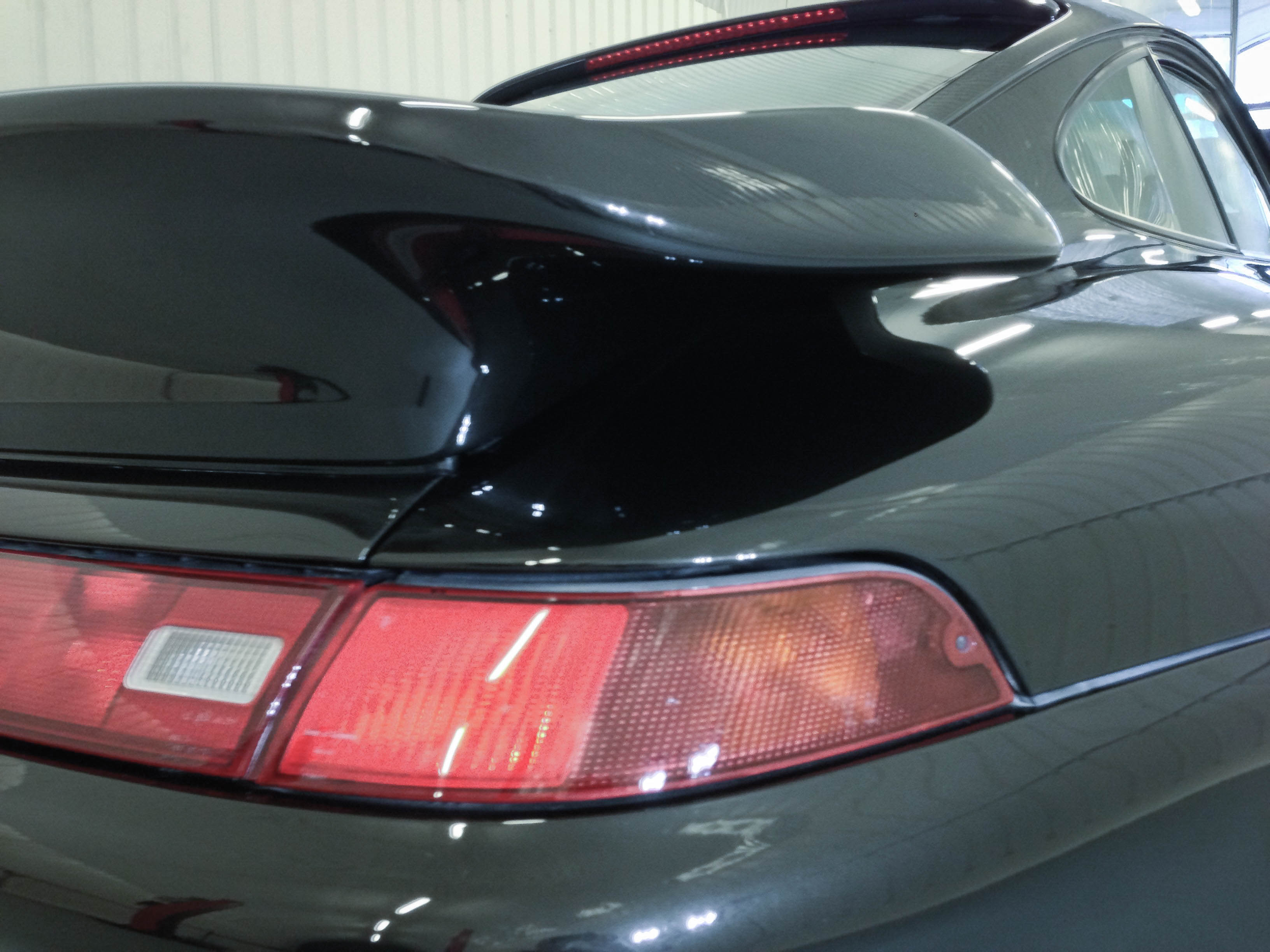 Porsche 911 Turbo – Light detail