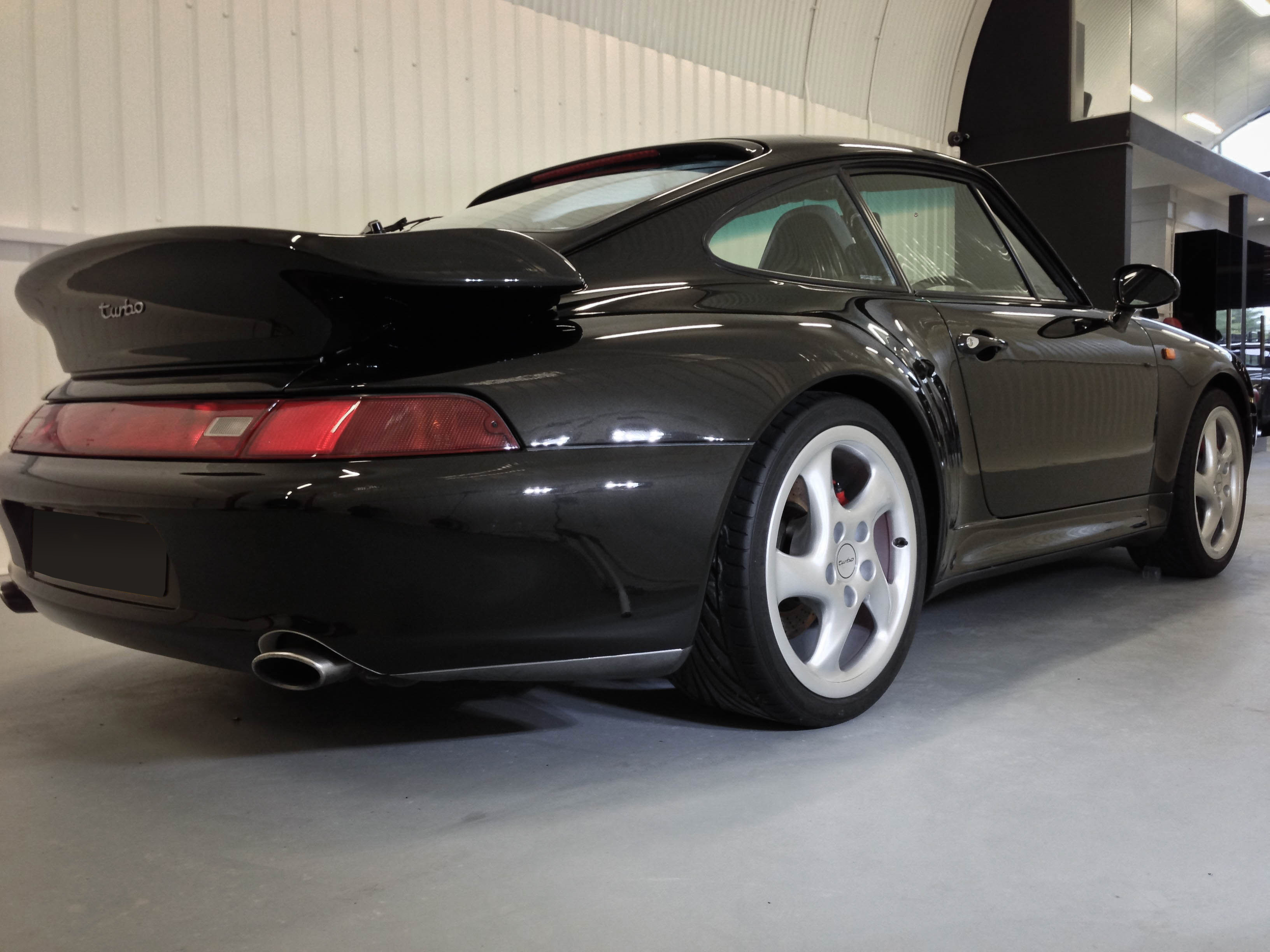 Porsche 911 Turbo – Rear