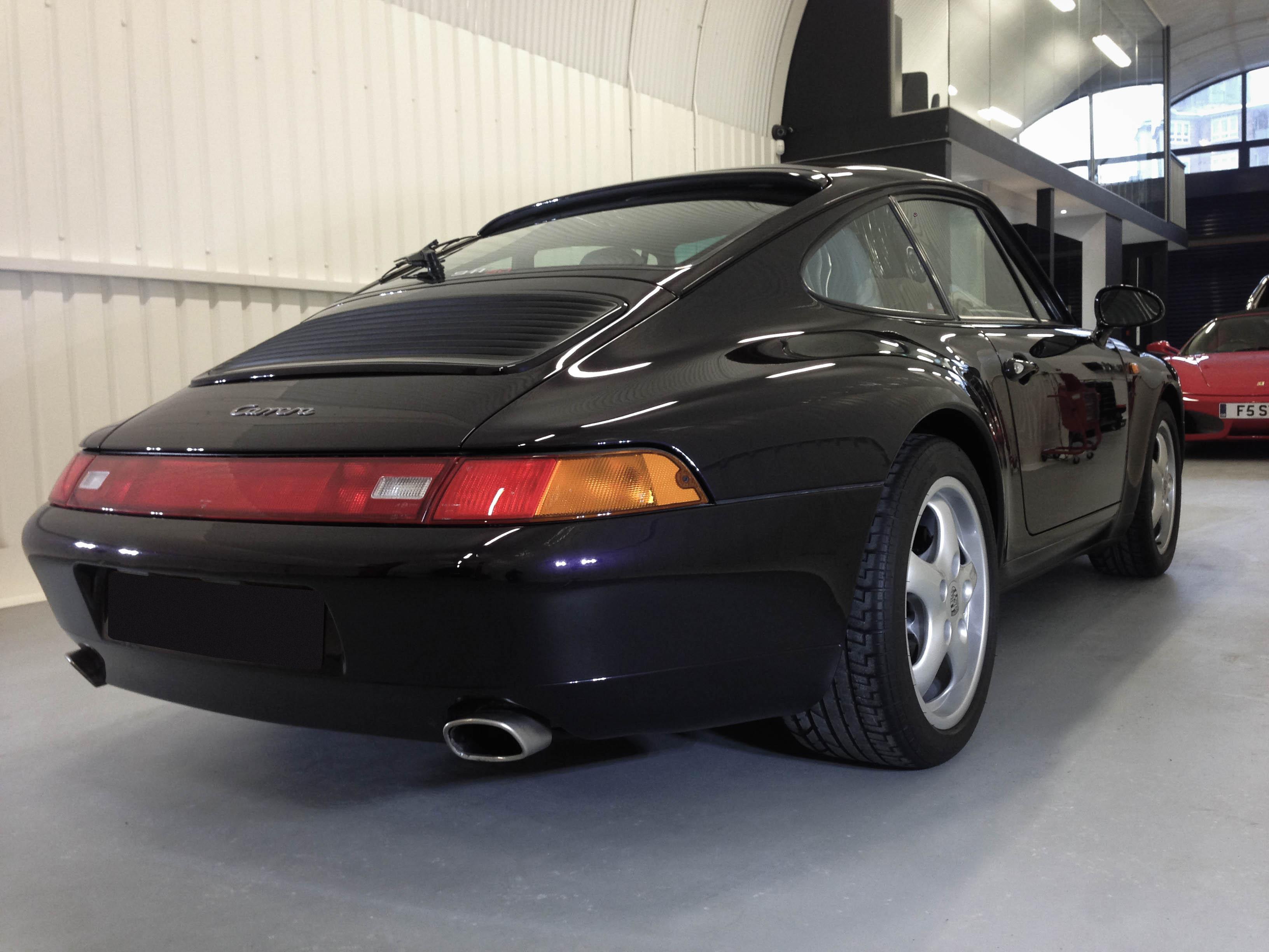 Porsche 993S – Rear