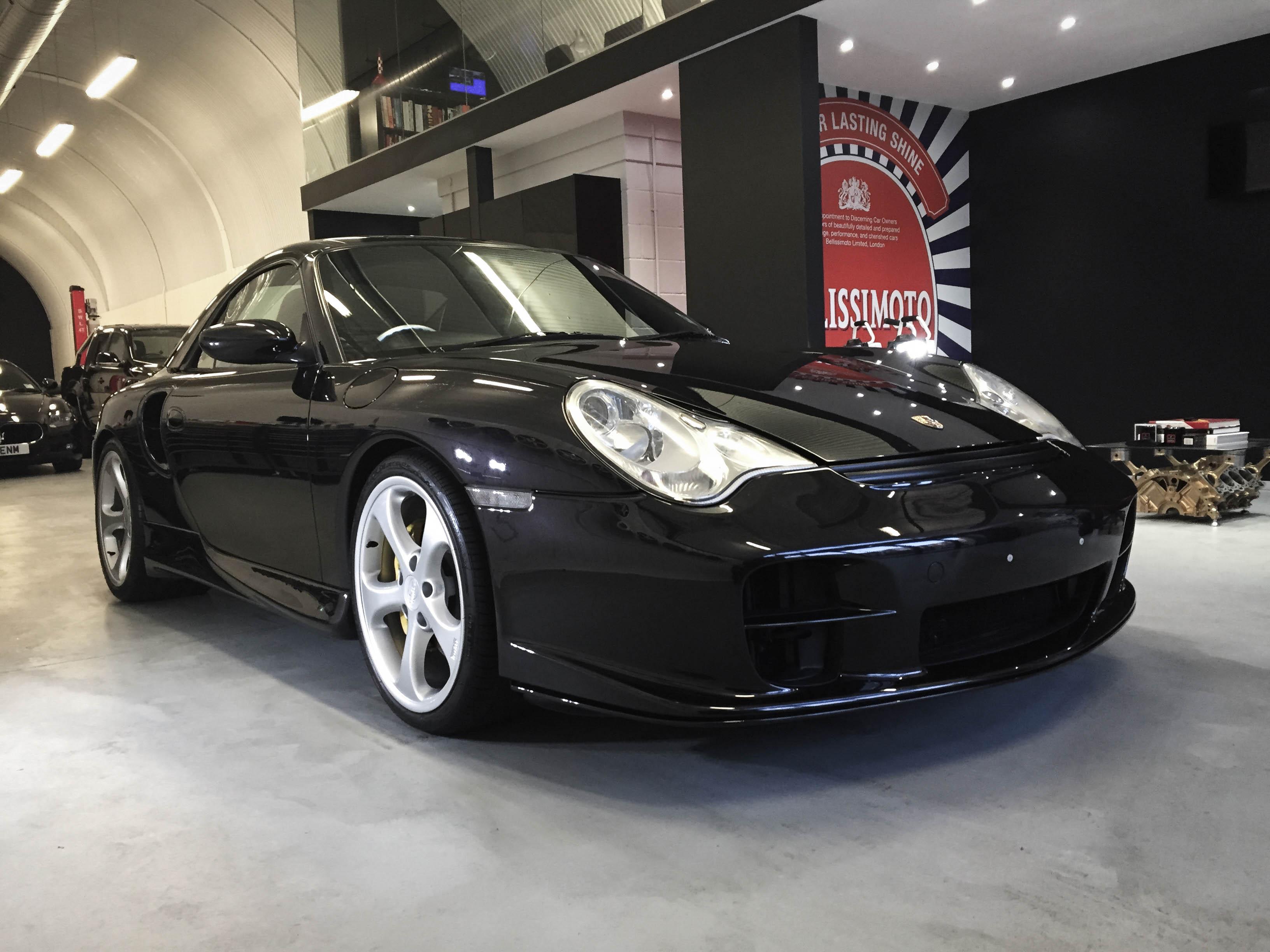 Porsche 997T –Front