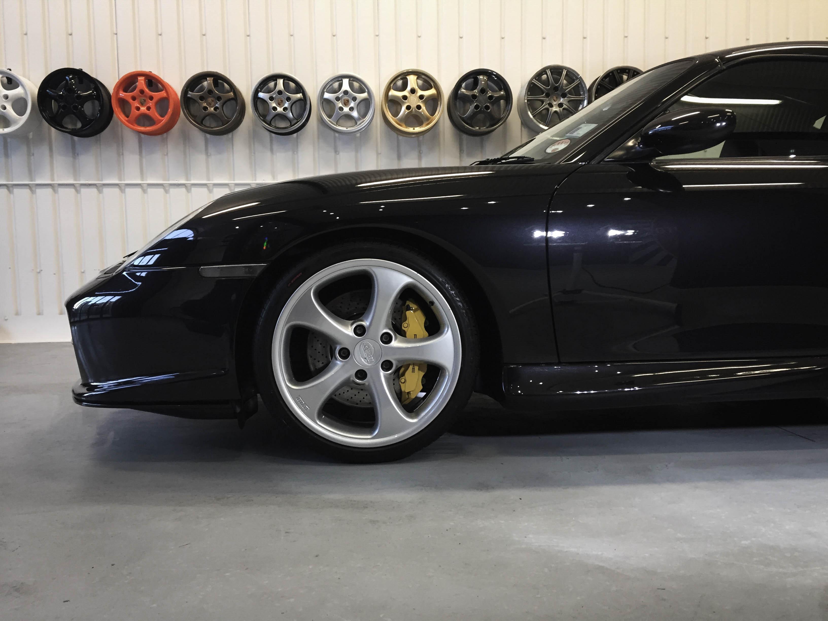 Porsche 997T – Side