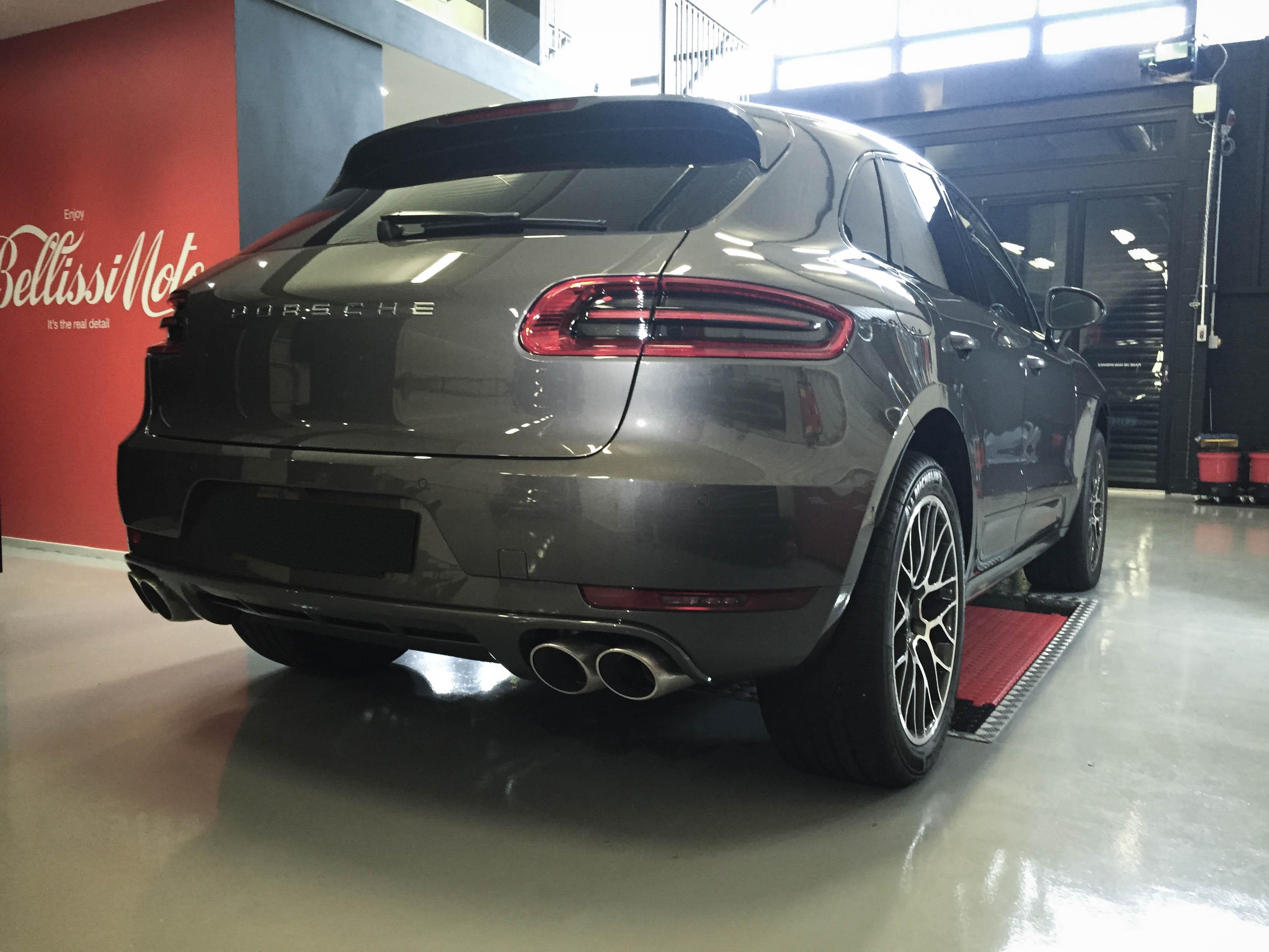 Porsche Macan – GTSRear