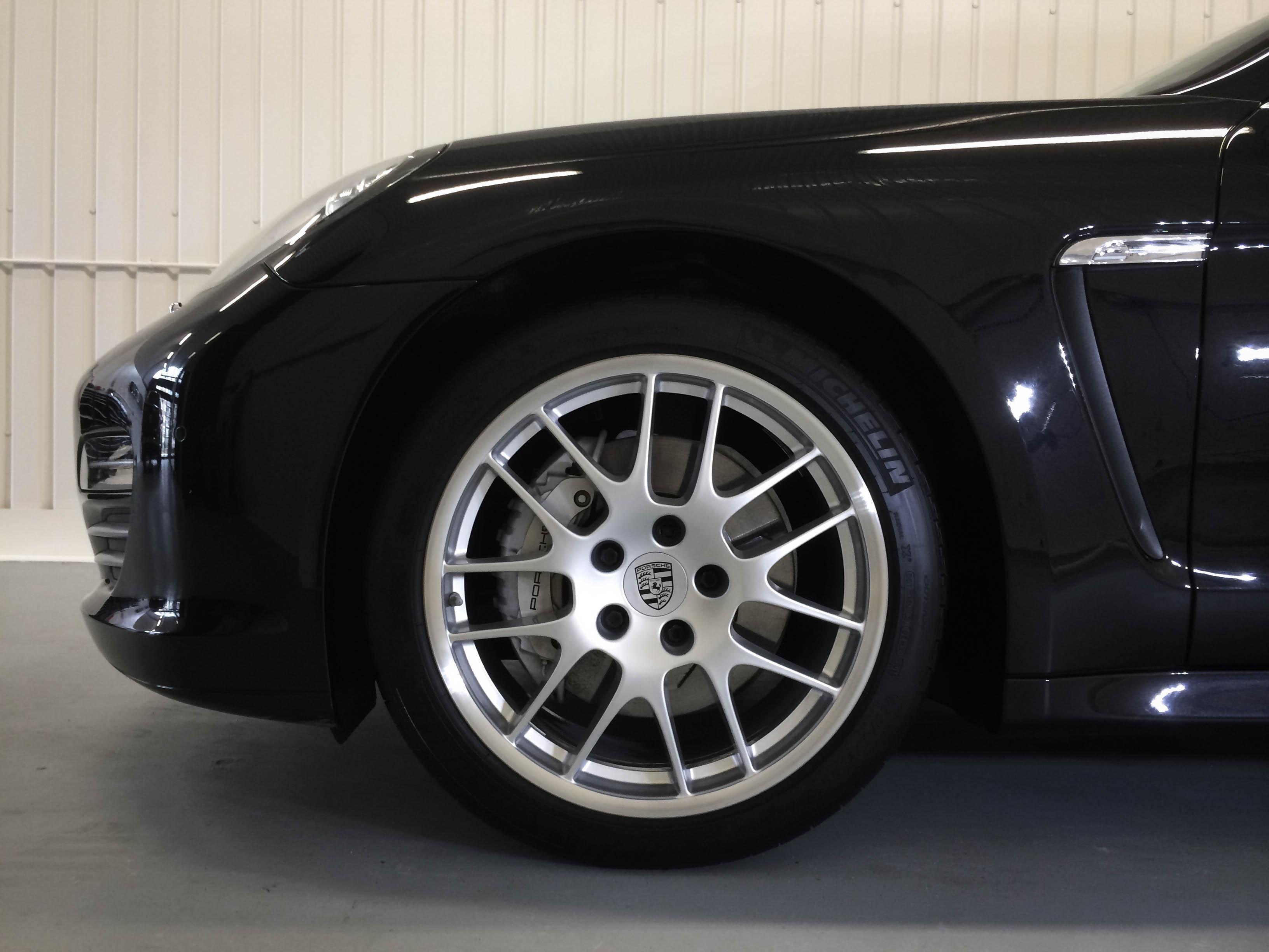 Porsche Panamera –Wheel detail