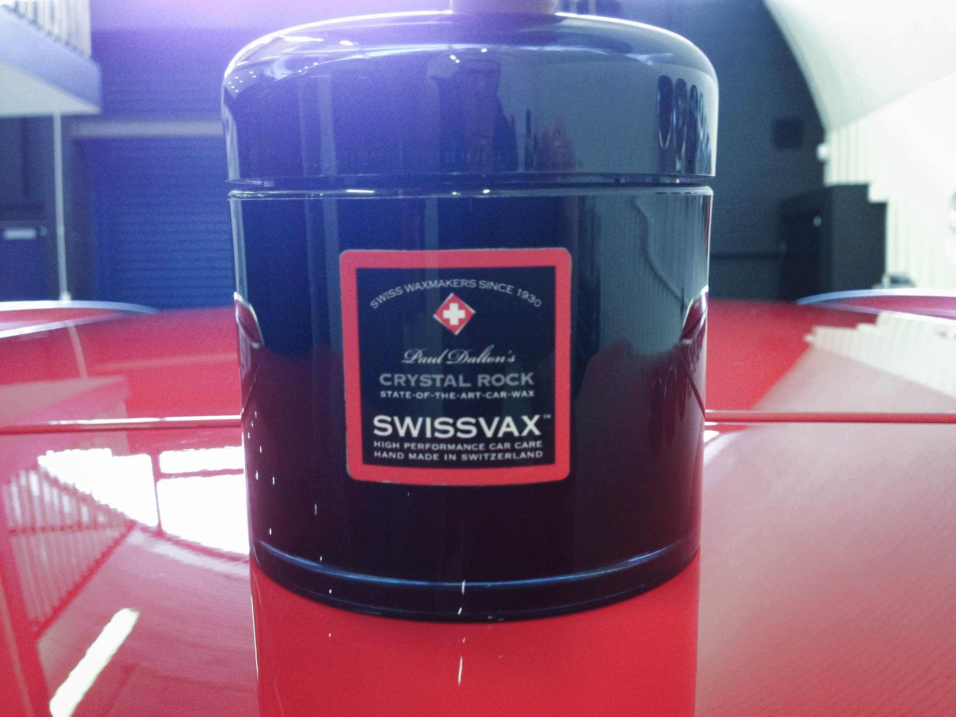 Audi A3 (Misano Red) – Finished in Swissvax Crystal Rock