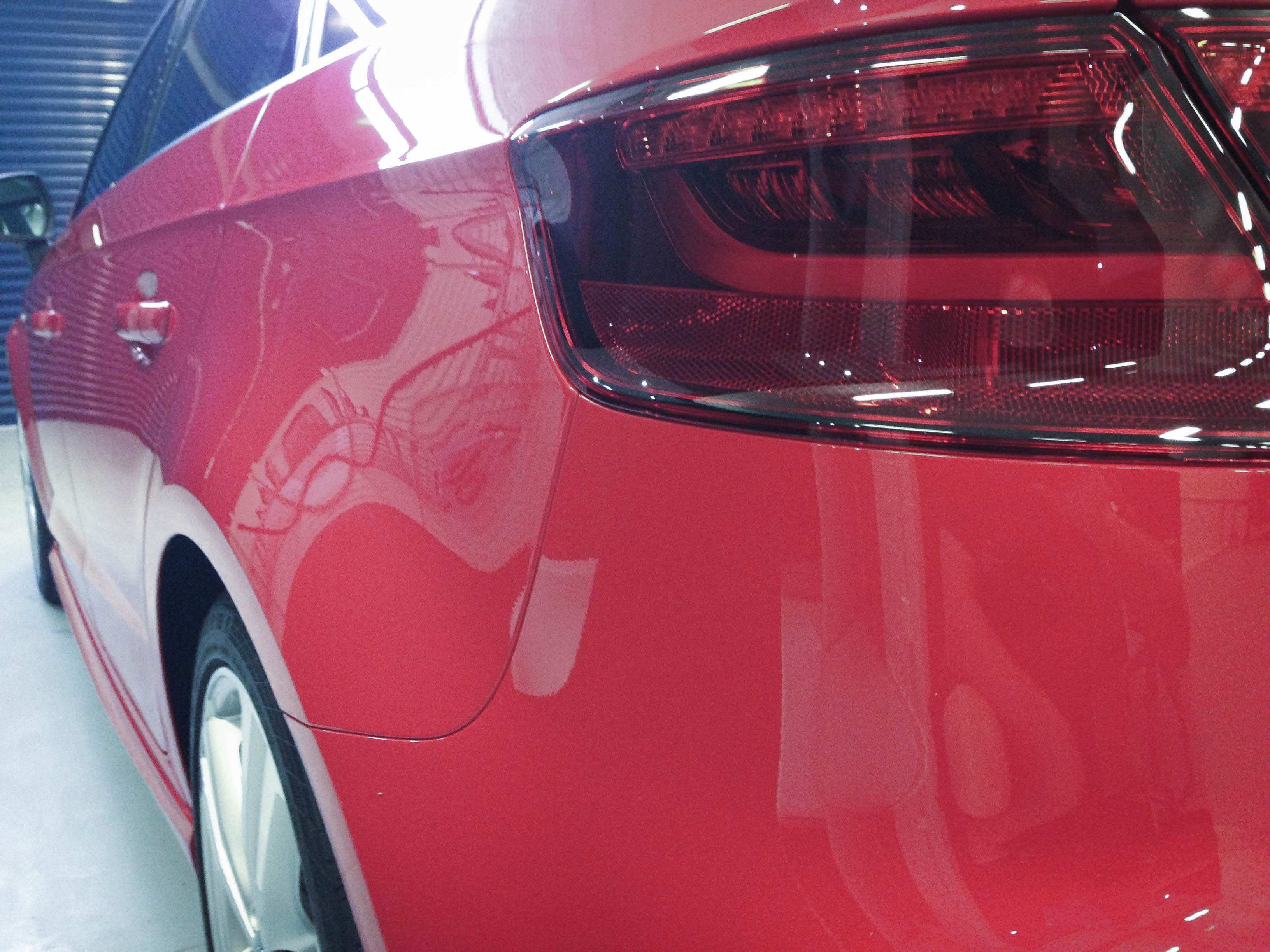 Audi A3 (Misano Red) – Rear light
