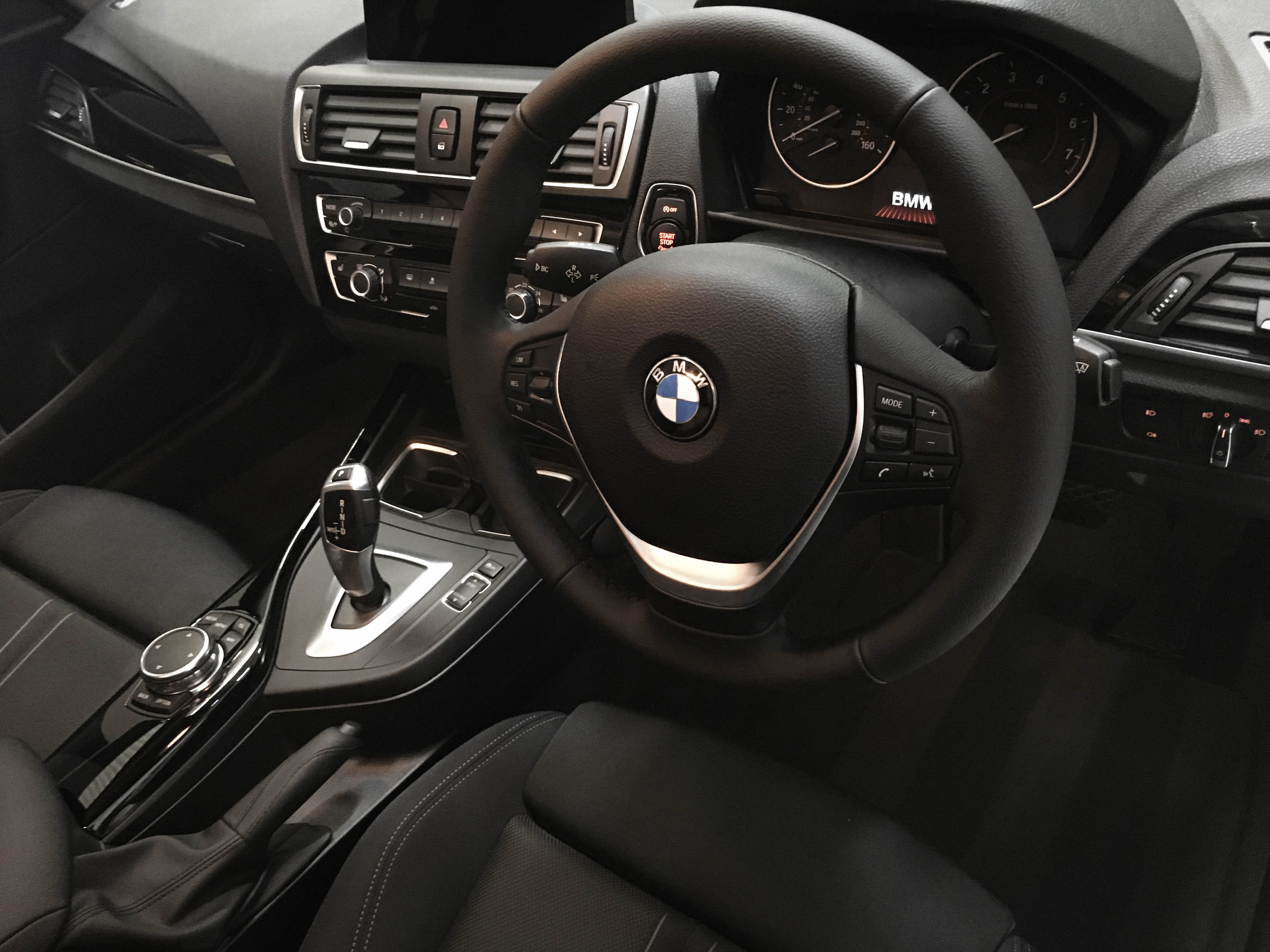 BMW 1series – Interior