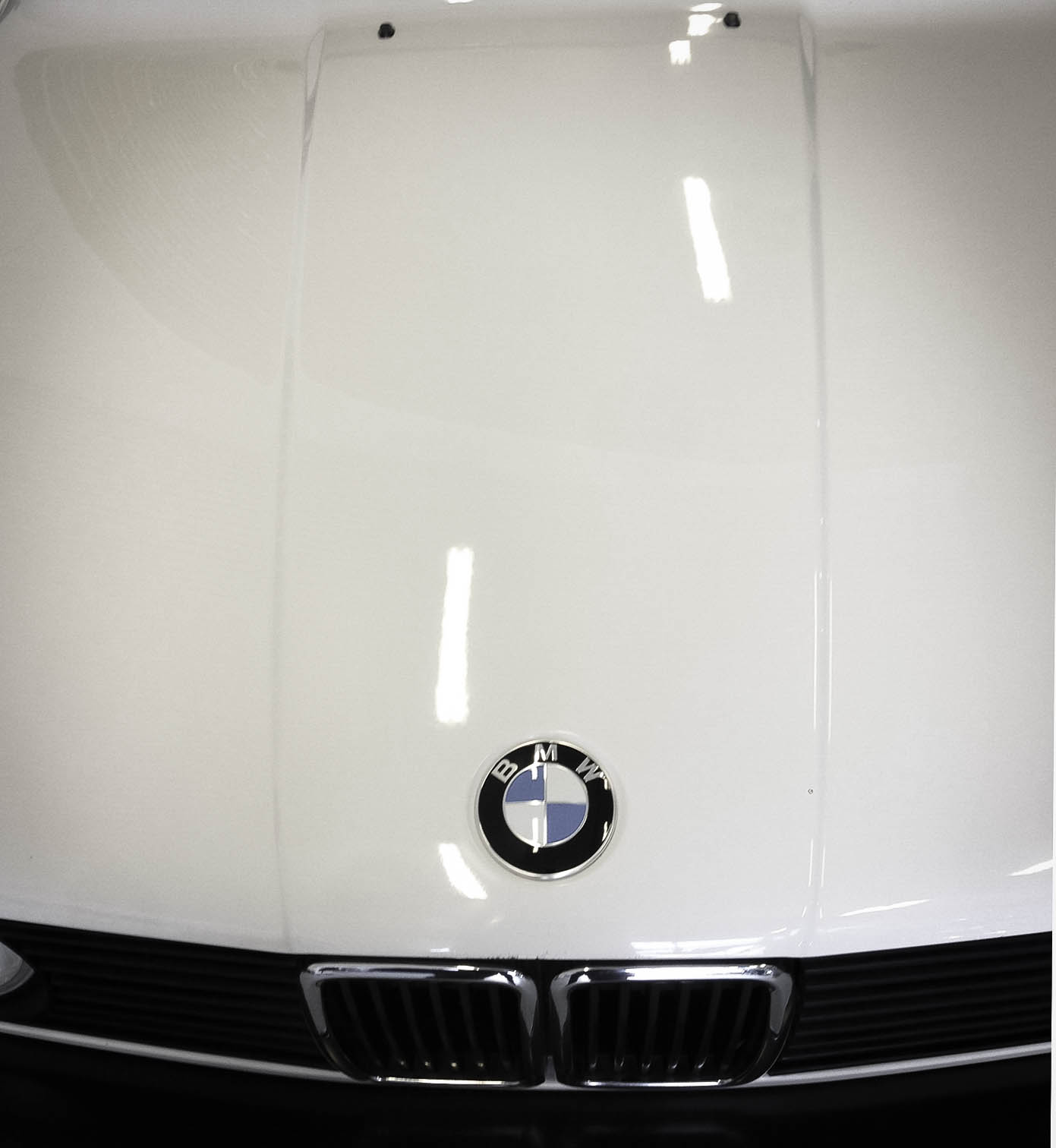 BMW 320i – Bonnet