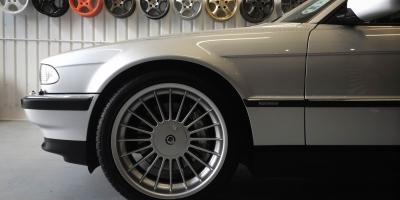 BMW 740i –Wheel detailing