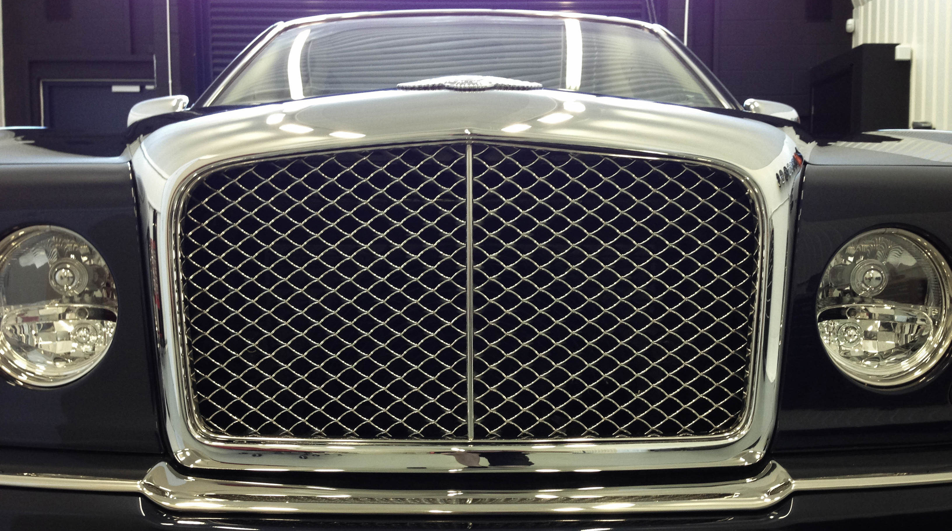 Bentley Arnage – Grill
