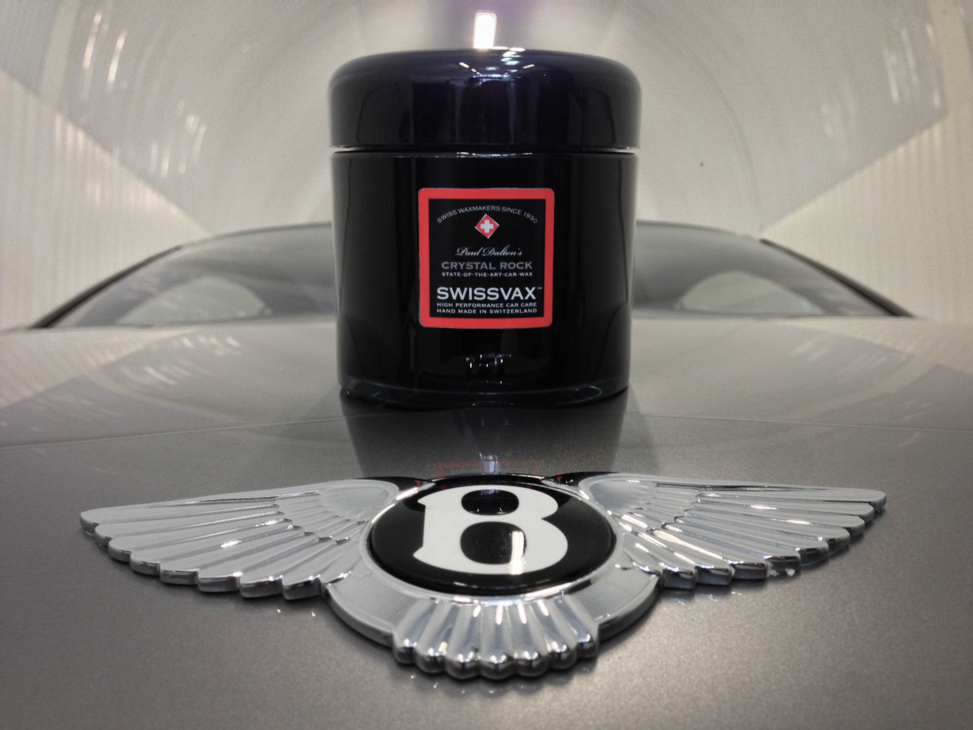 Bentley Continental – Finished with Swissvax Crystal Rock