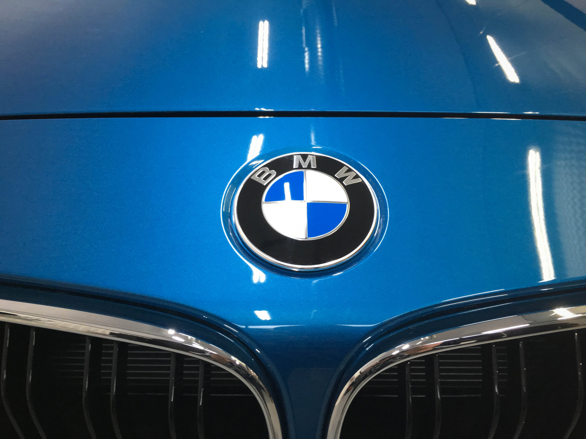 BMW M2 - BMW Badge