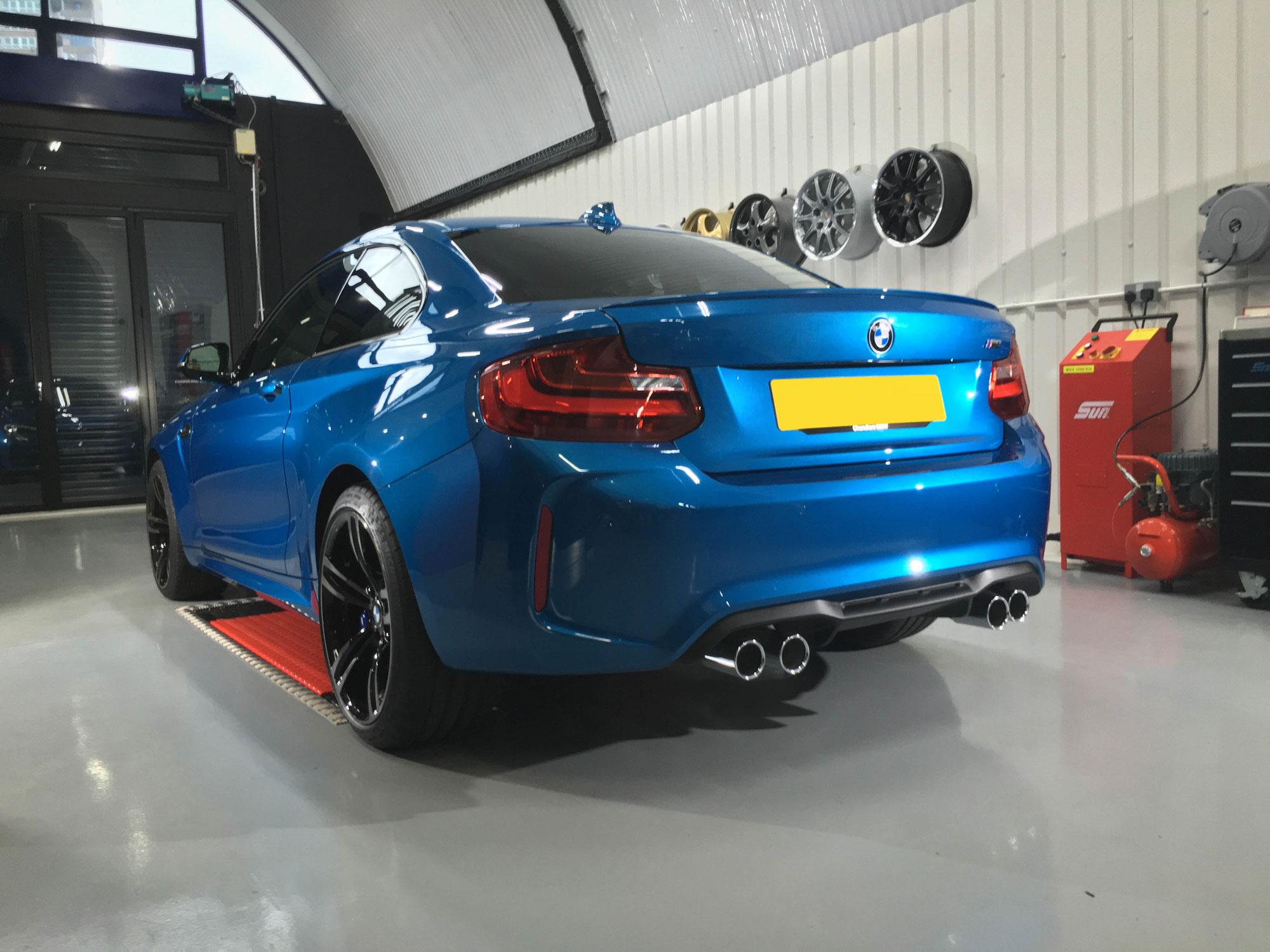BMW-M2-Rear