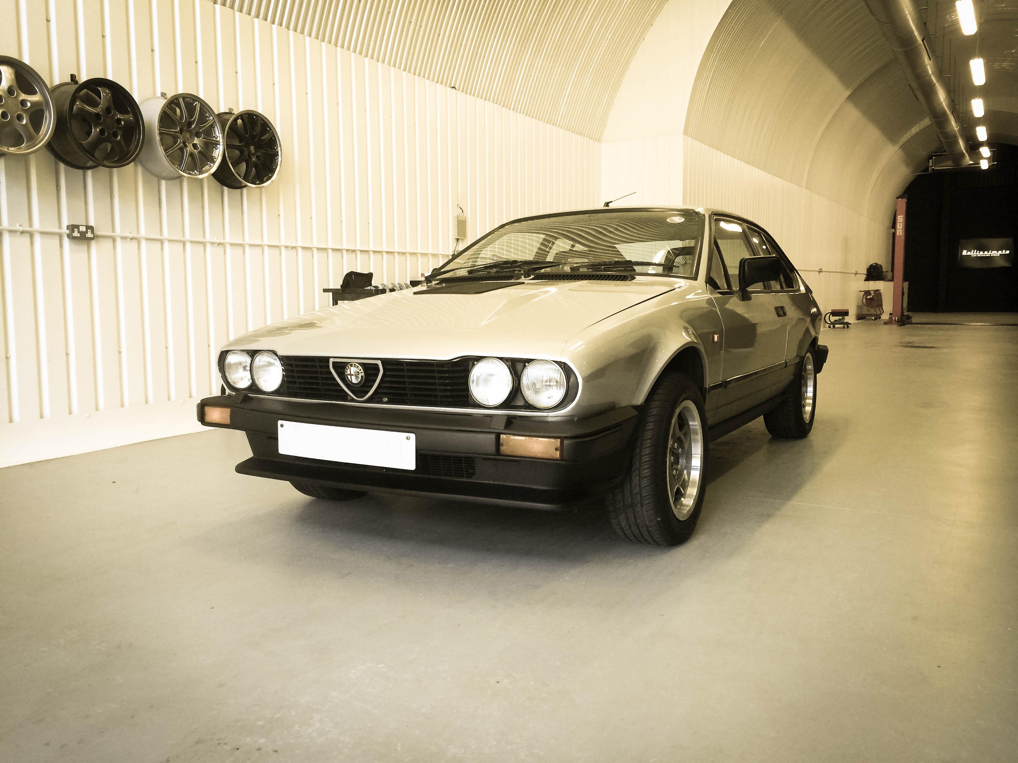 Alfa Romeo GTV6 – Front