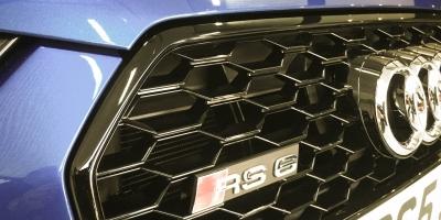 Audi RS6 V8 –Grill
