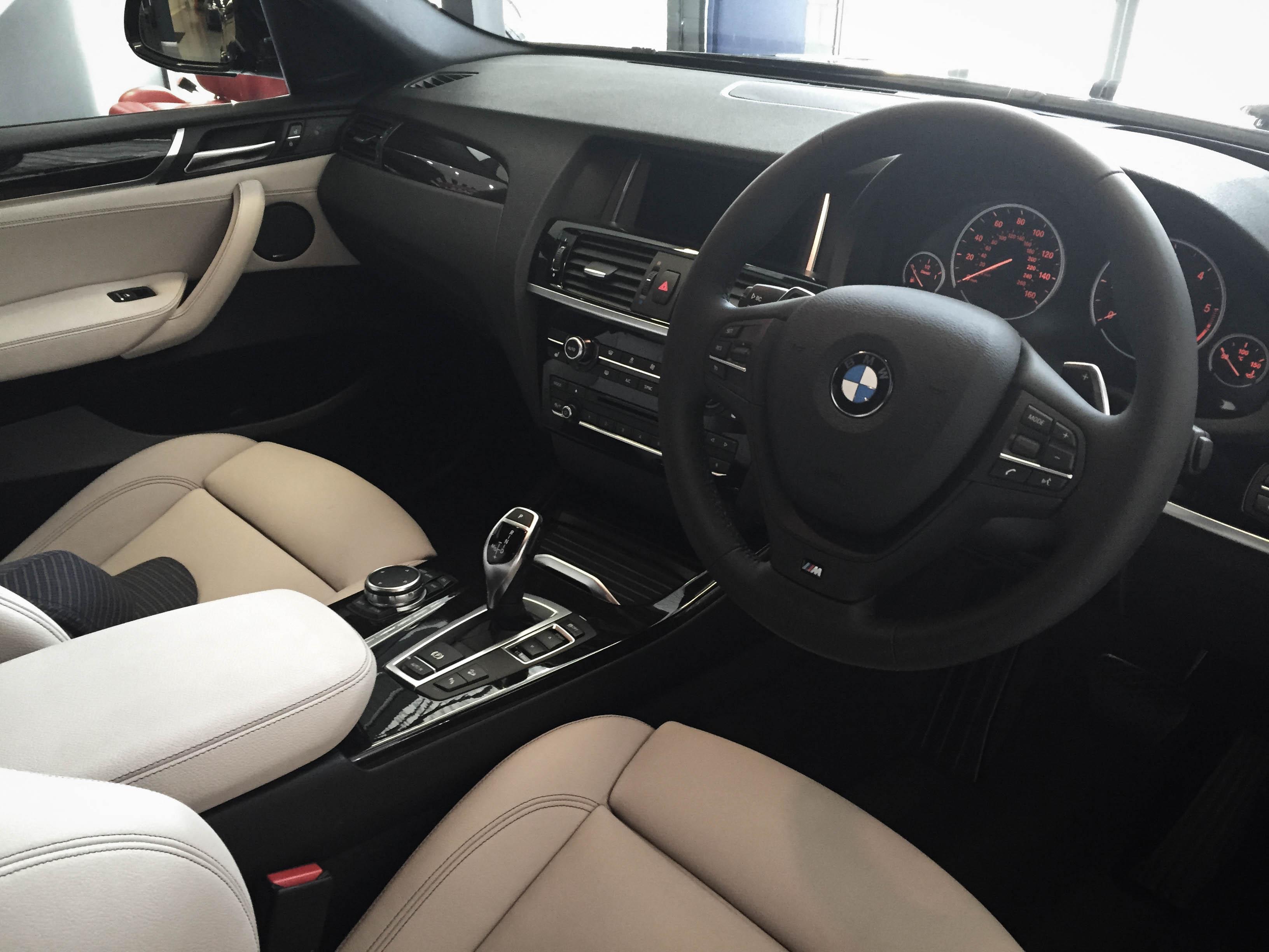 BMW X4 – Detailed Interior