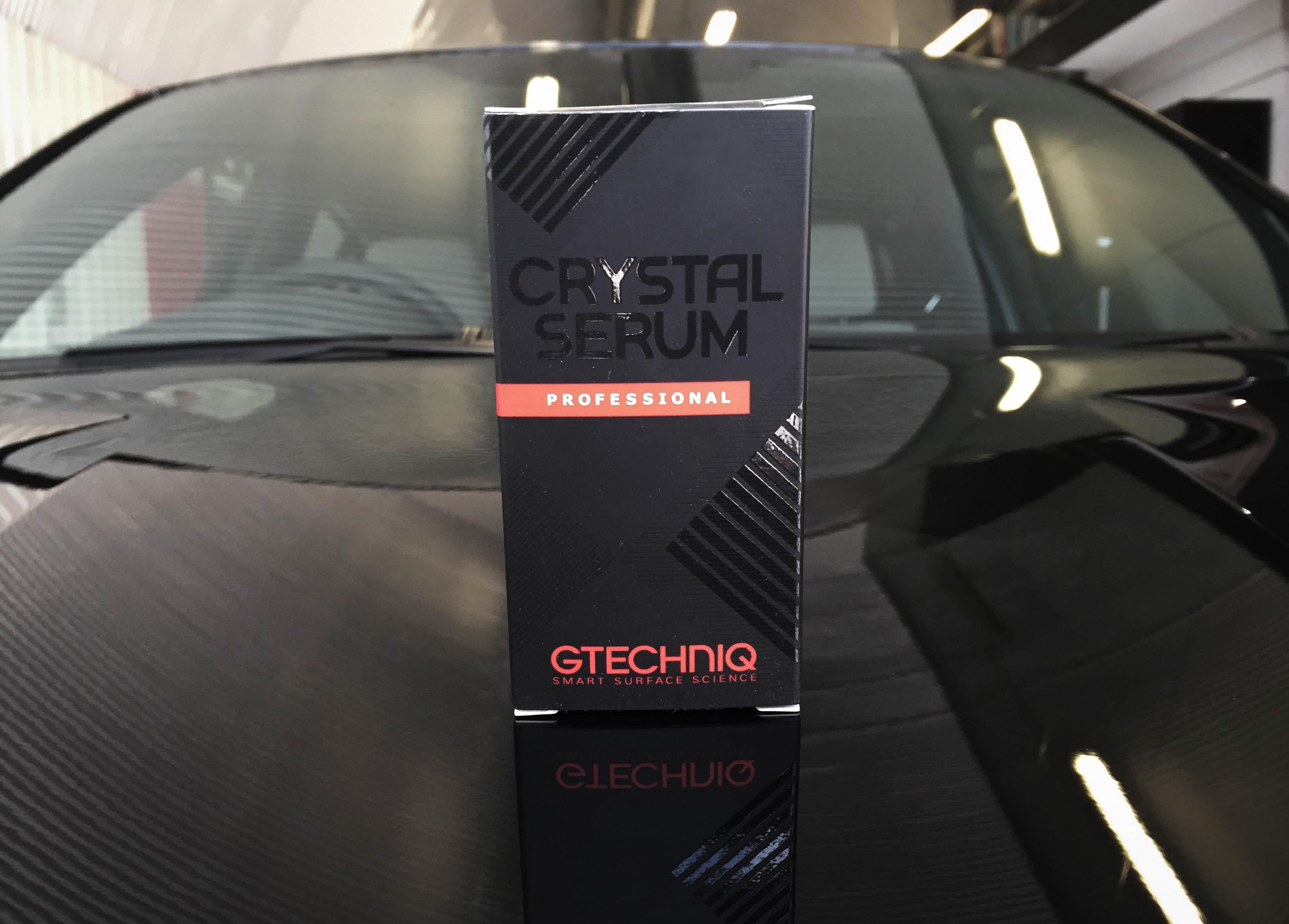 BMW X4 –Finished with GTechniq Crystal Serum