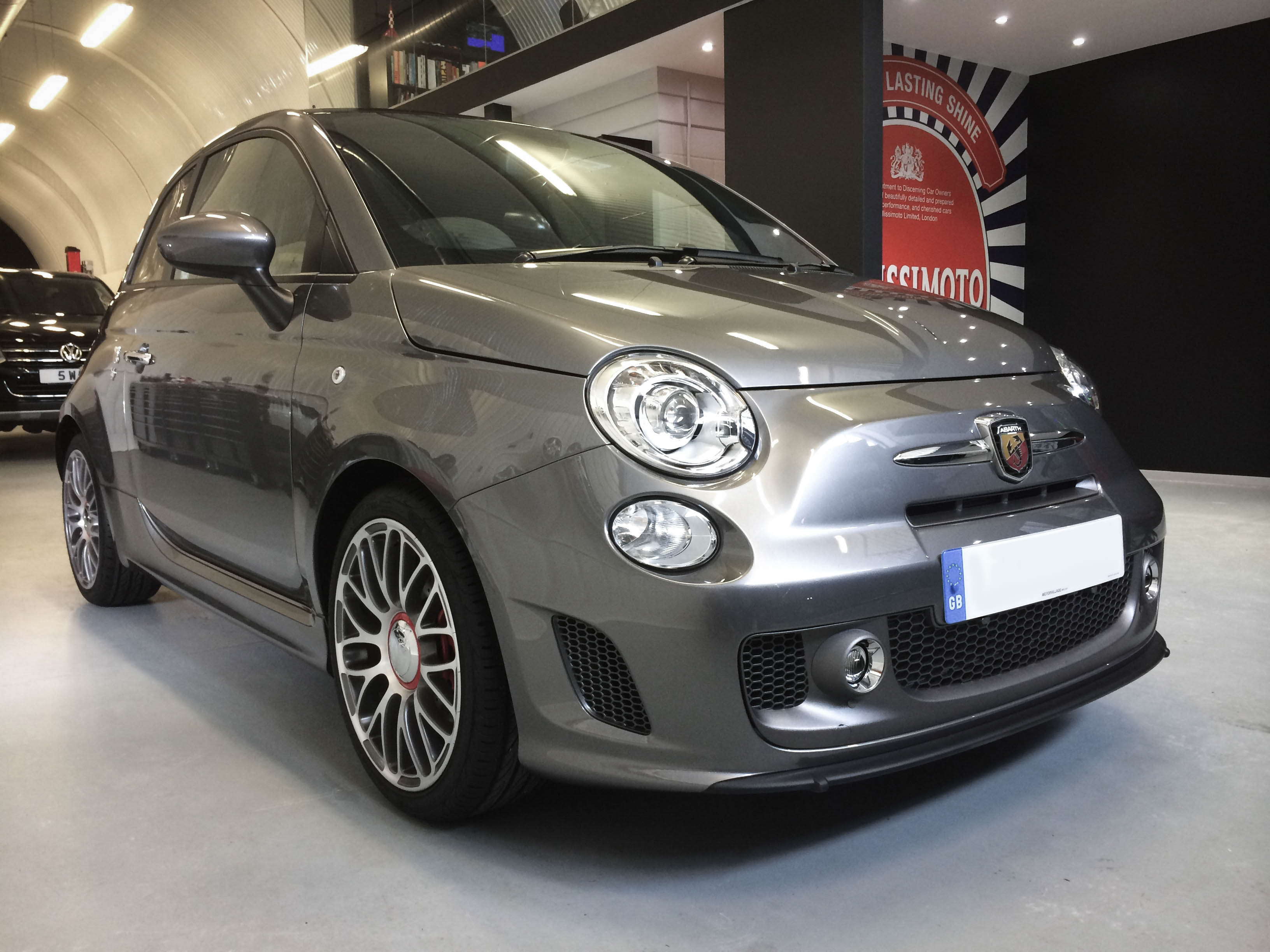 Fiat Abarth – Front