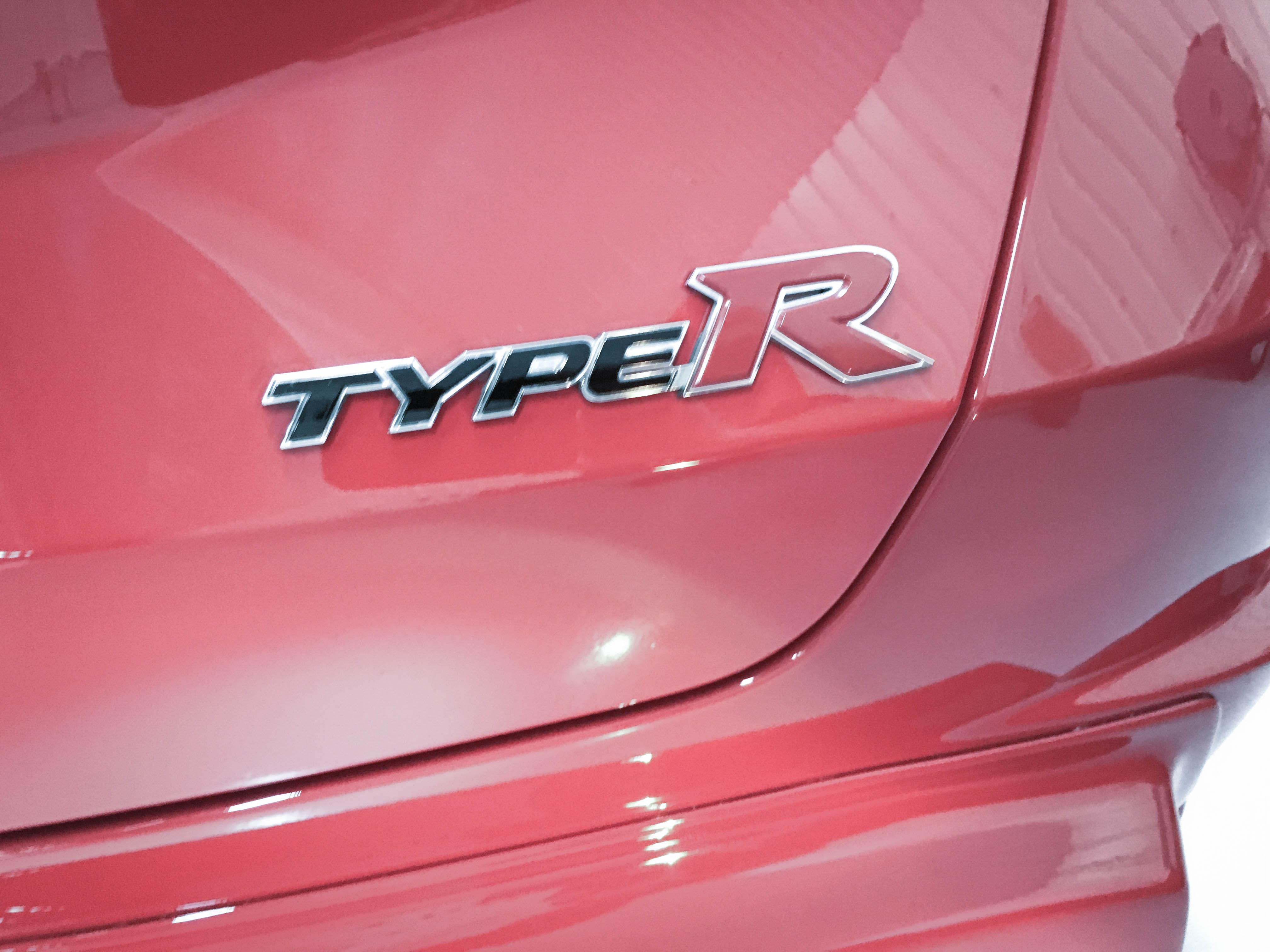 Honda Civic TypeR –Badge