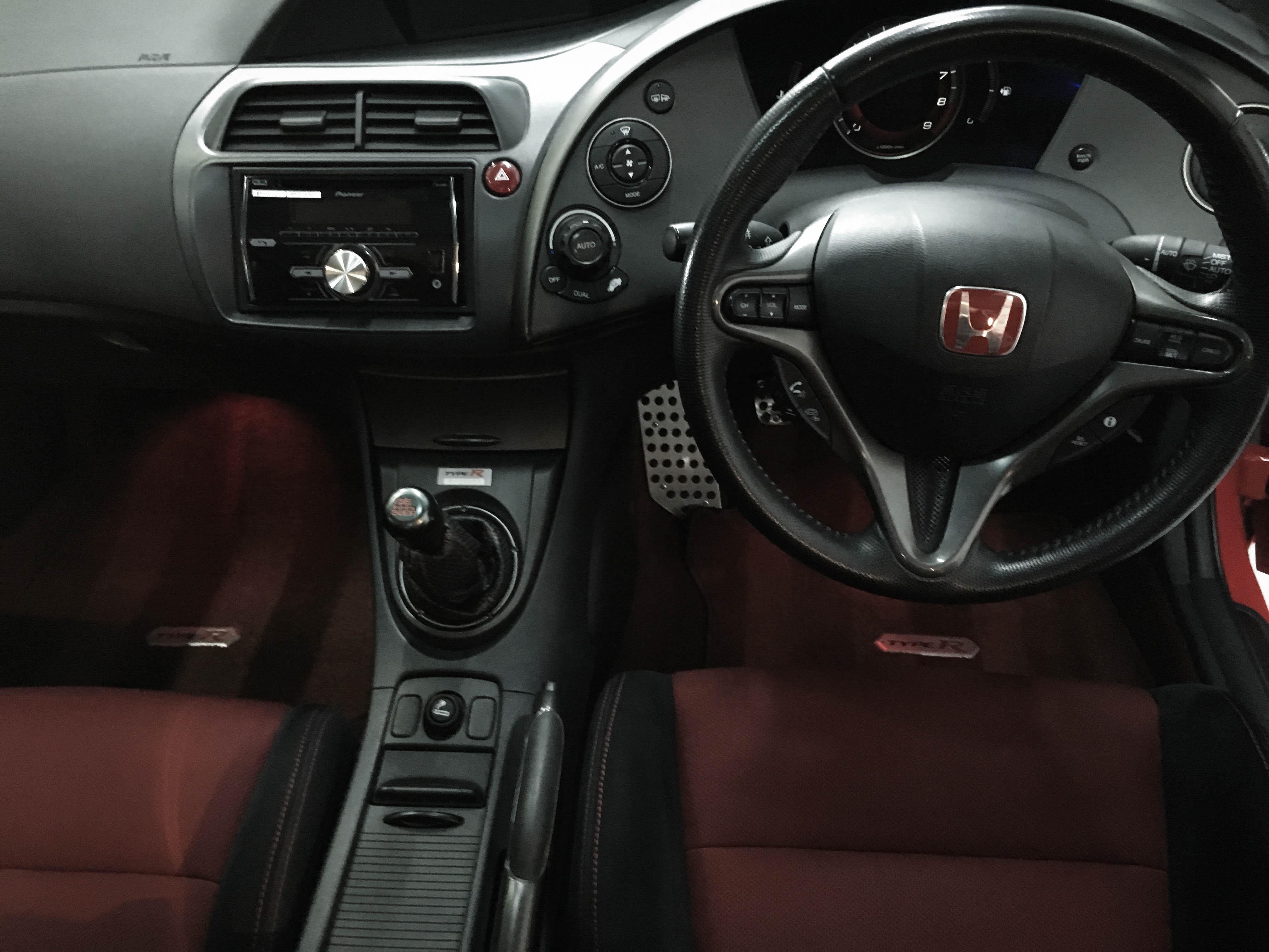 Honda Civic TypeR – Interior