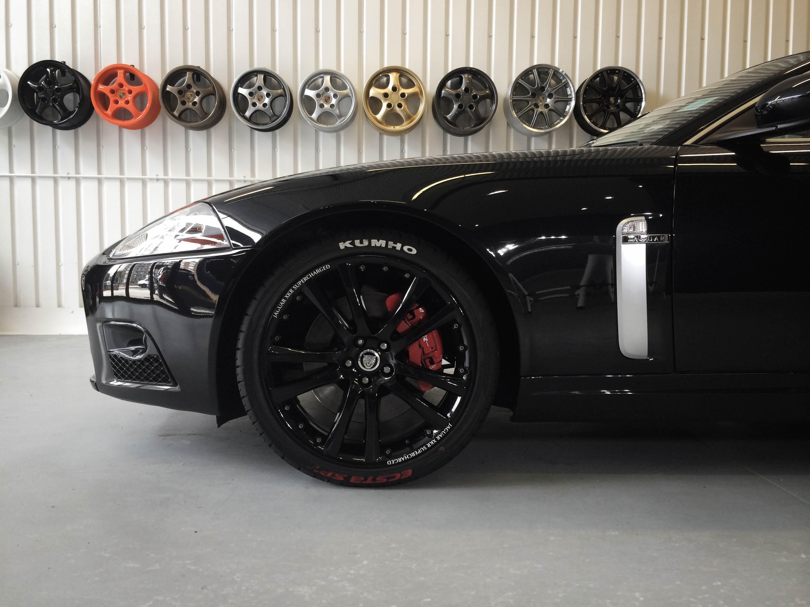 Jaguar R Coupe –Front Wheel