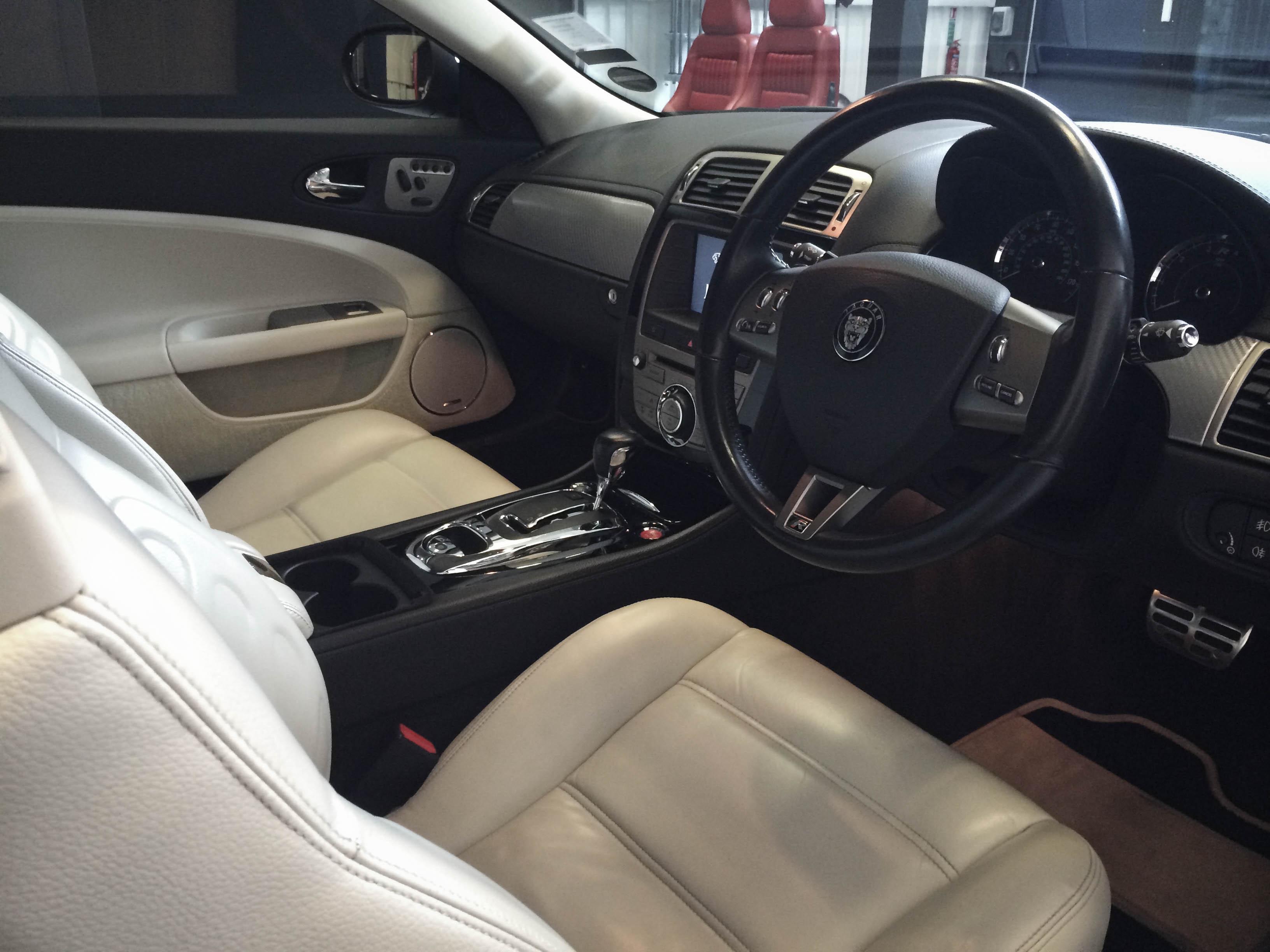 Jaguar R Coupe – Interior