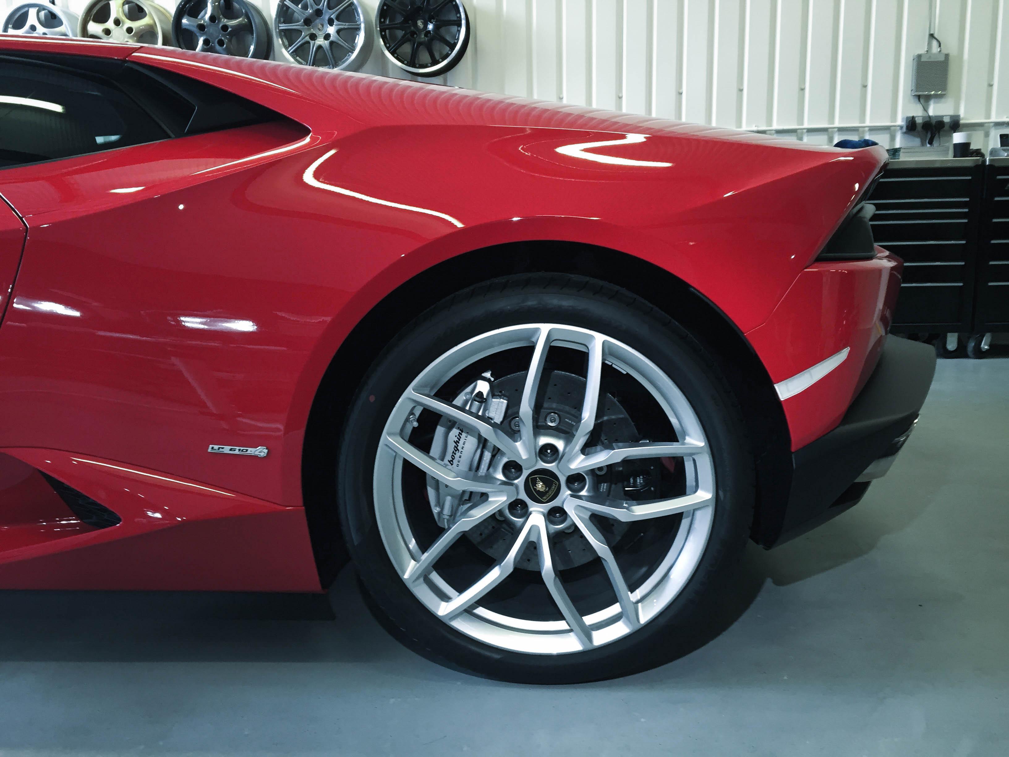 Lamborghini Huracan –Back Wheel