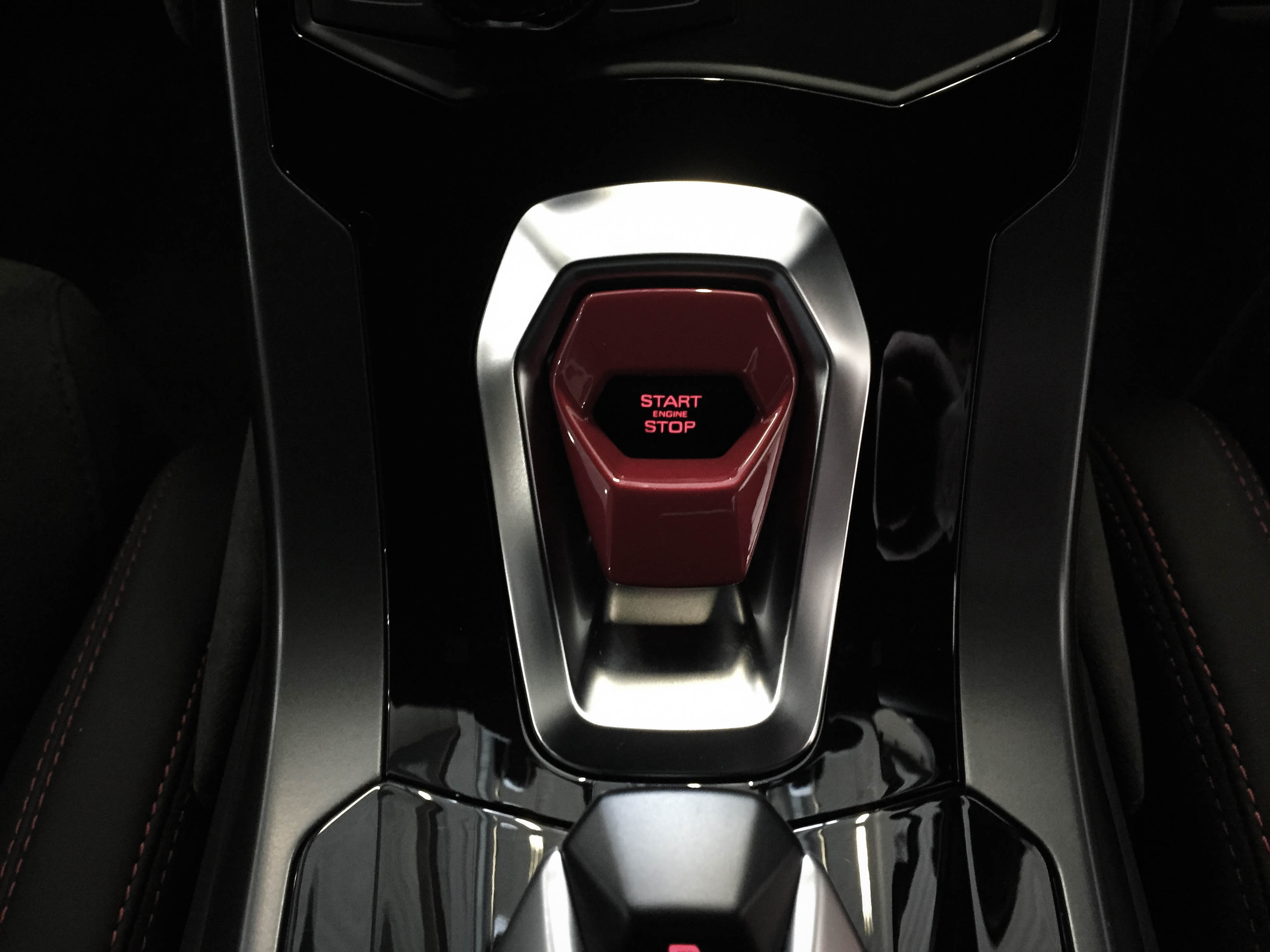 Lamborghini Huracan – Start engine