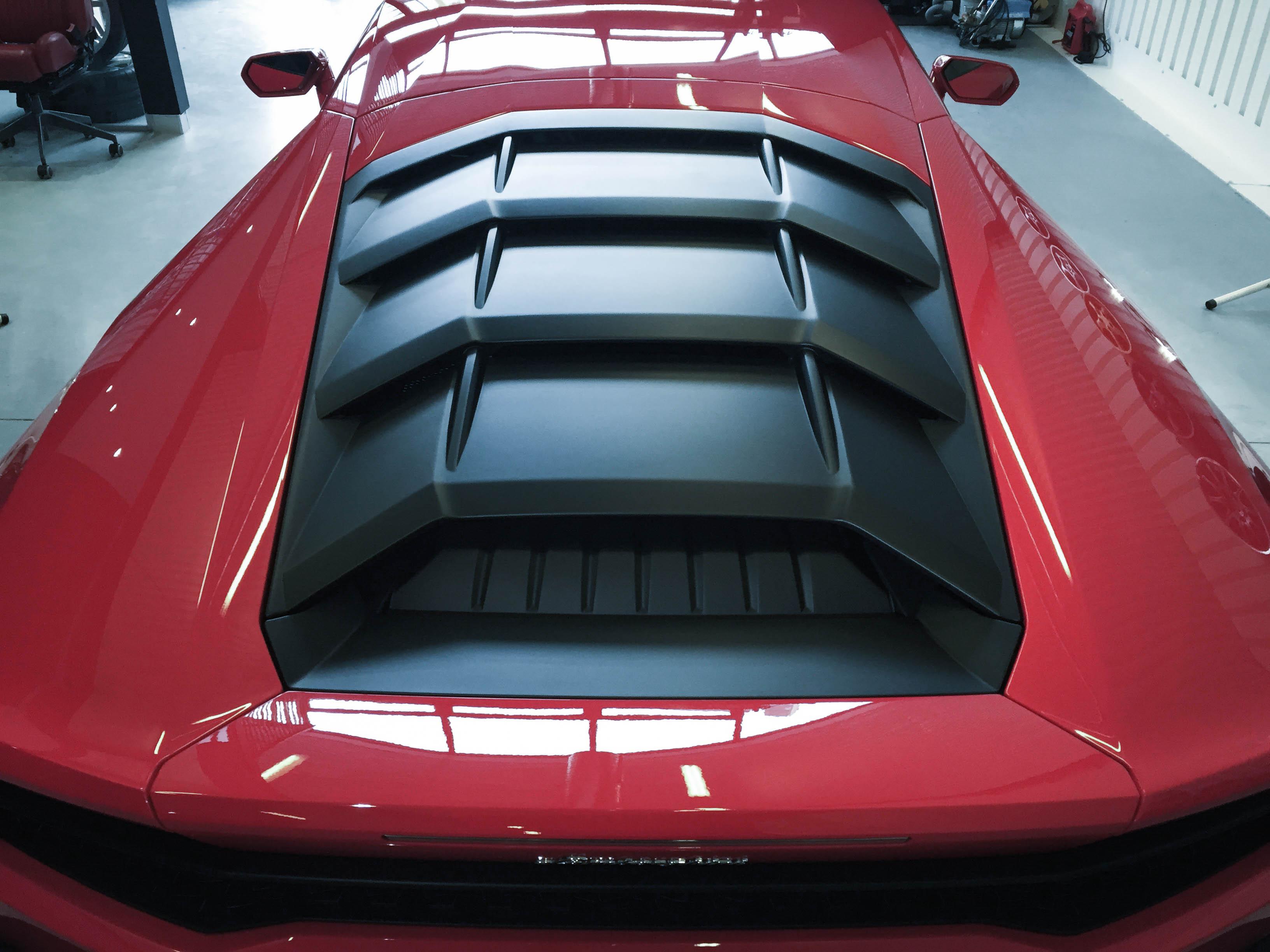 Lamborghini Huracan – Top