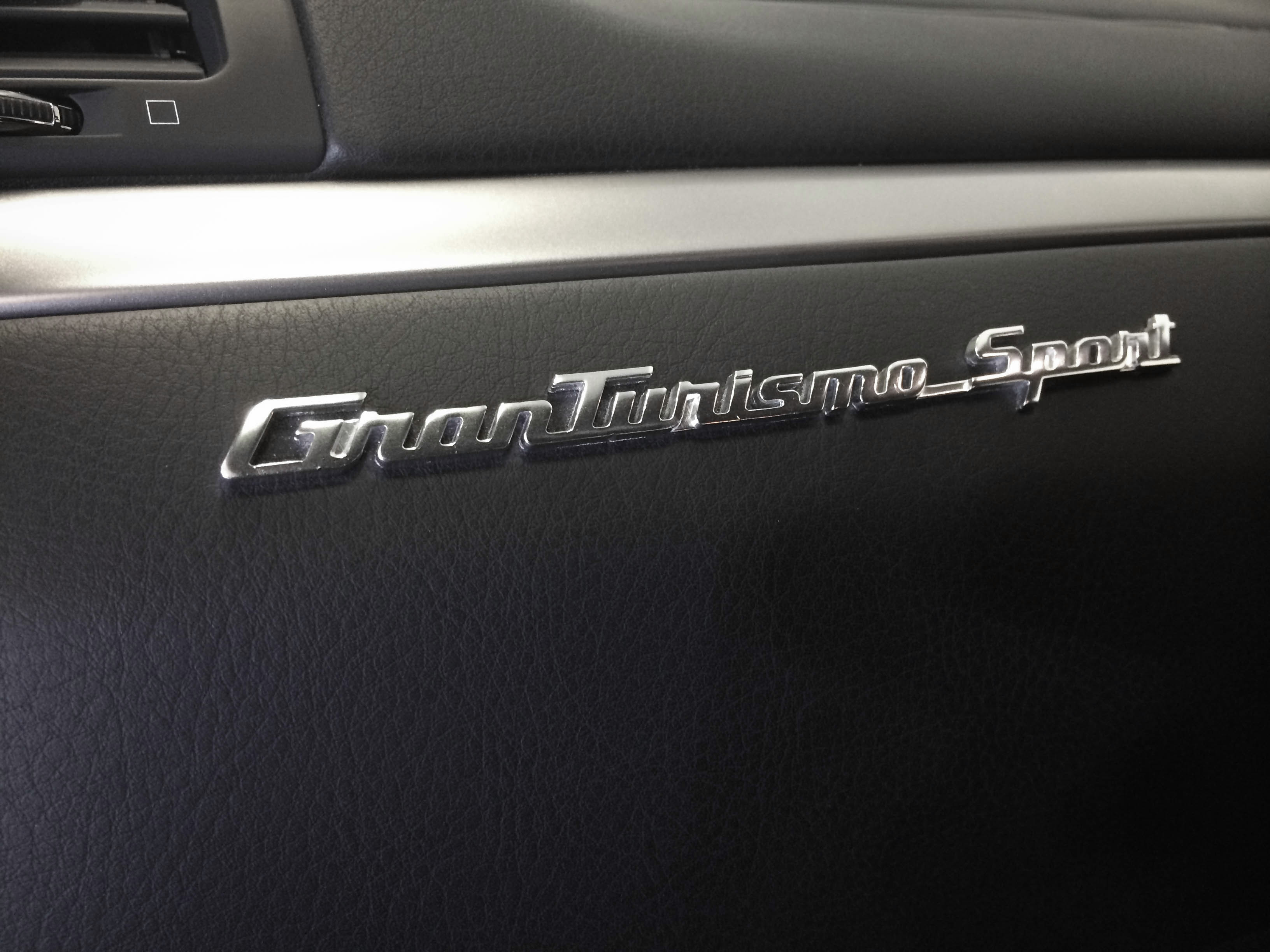 Maserati Gran Turismo – Leather work