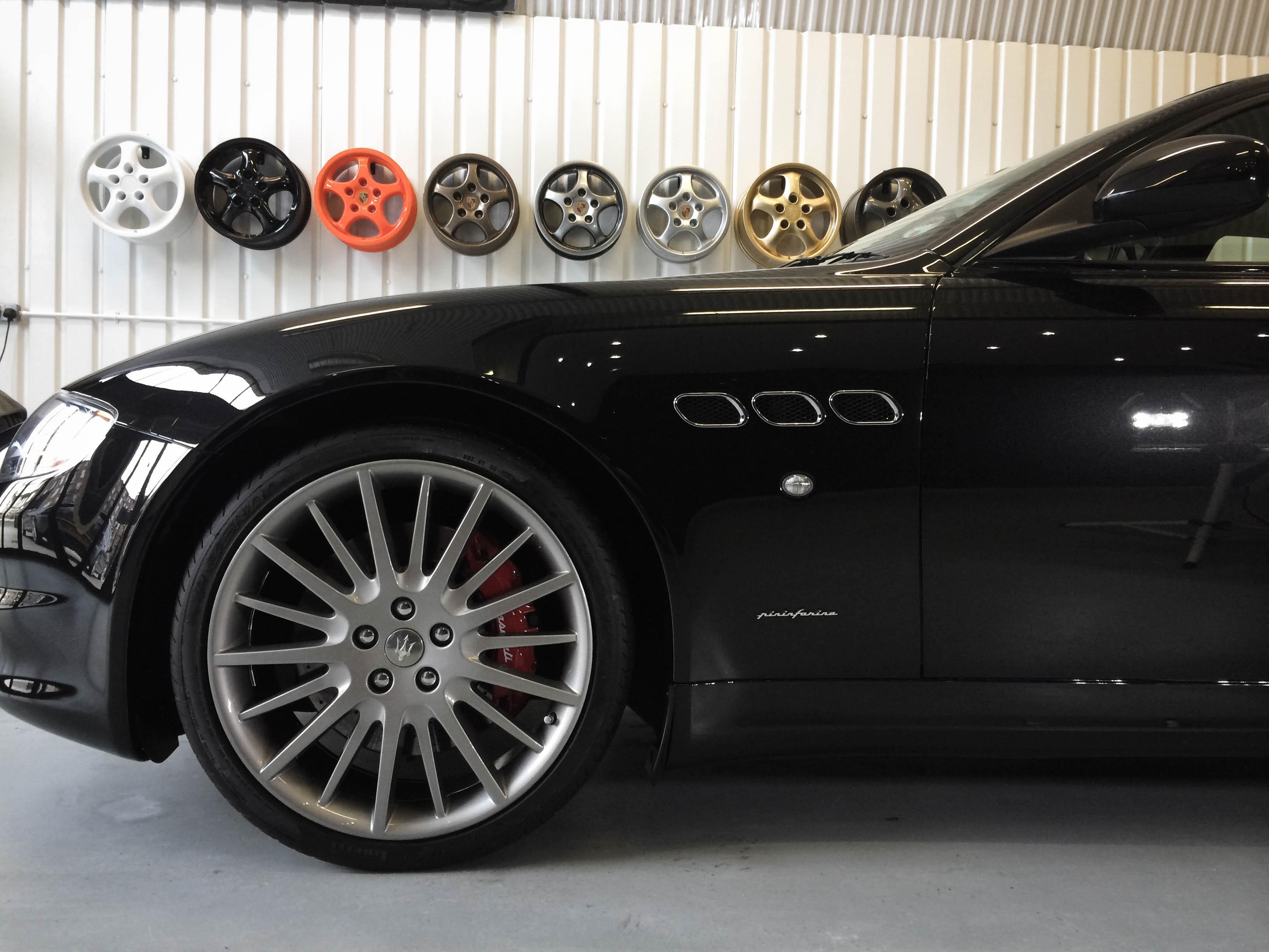 Maserati Quatroporte – Front wheel